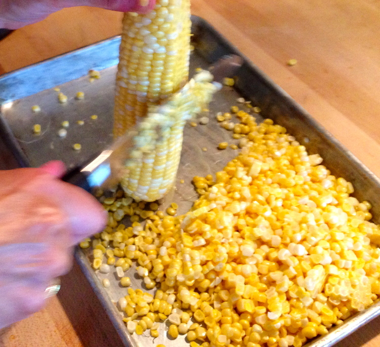 Holding On To Summer With A Delicious Corn Chowder