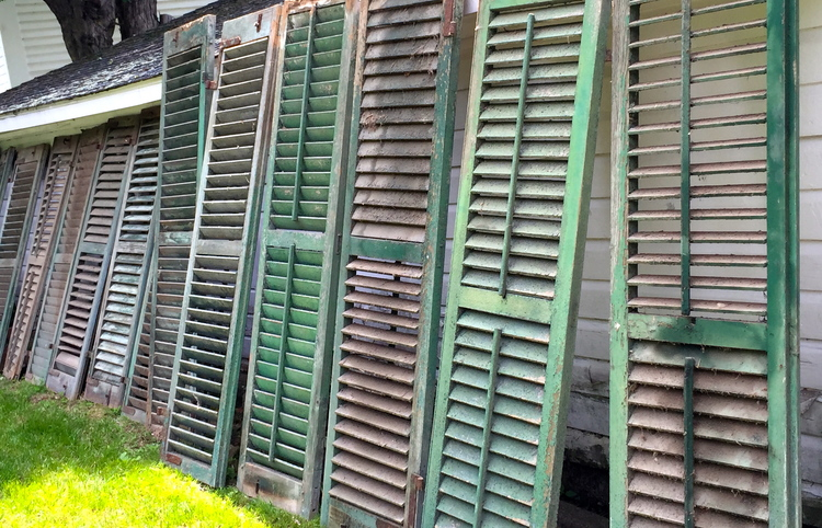 Old Shutters, New Life – Part One