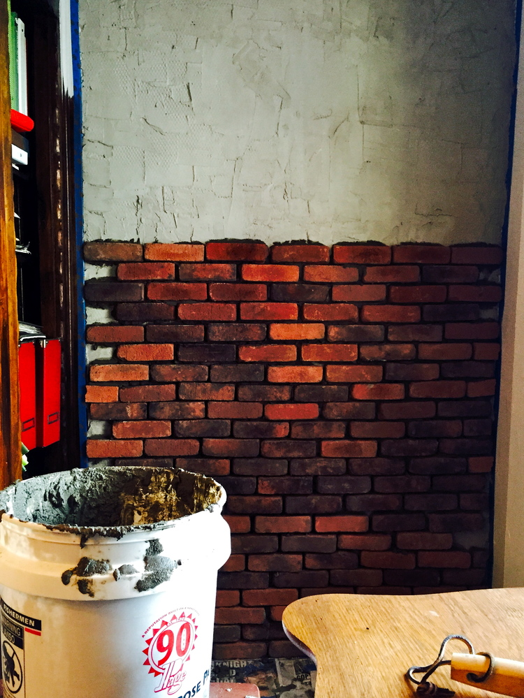 Tales of The Brick Wall Install