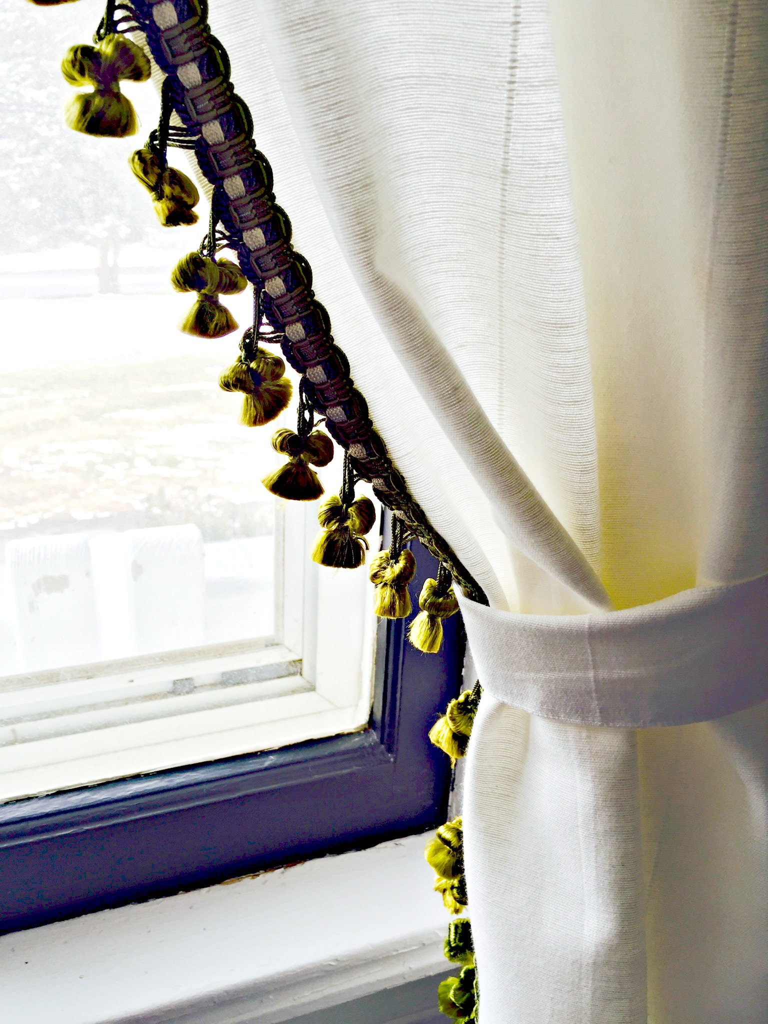 How To Glam Up Curtains And Stay Within Budget