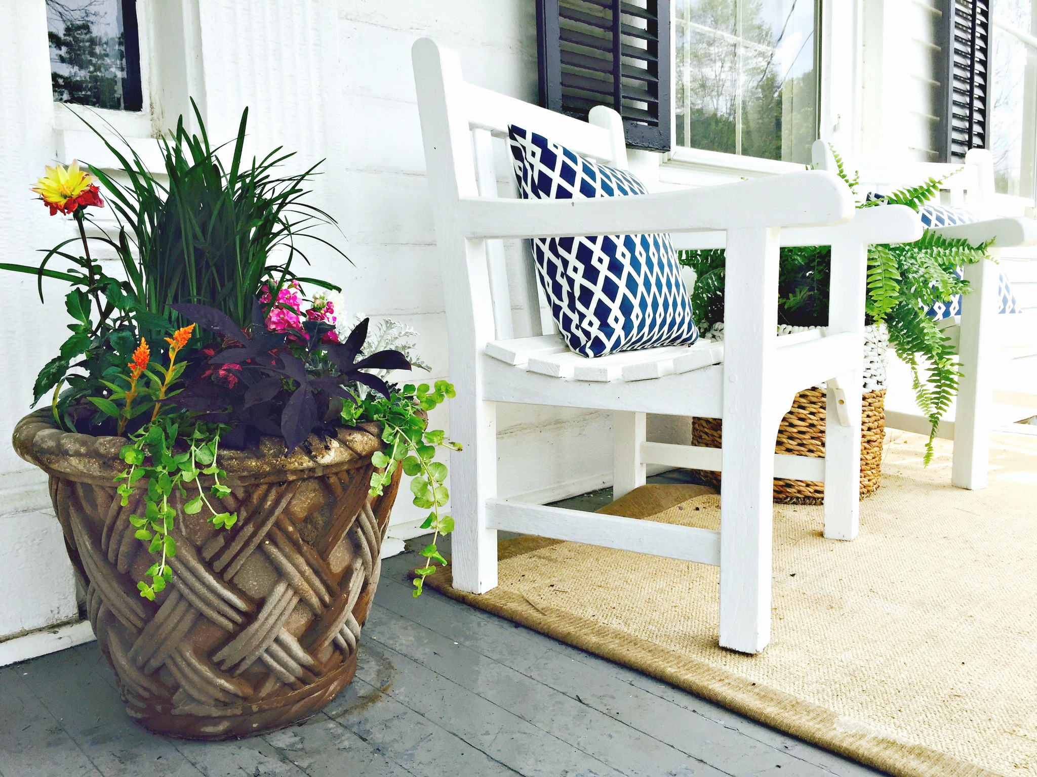 Container Gardens, Perfect For Porches