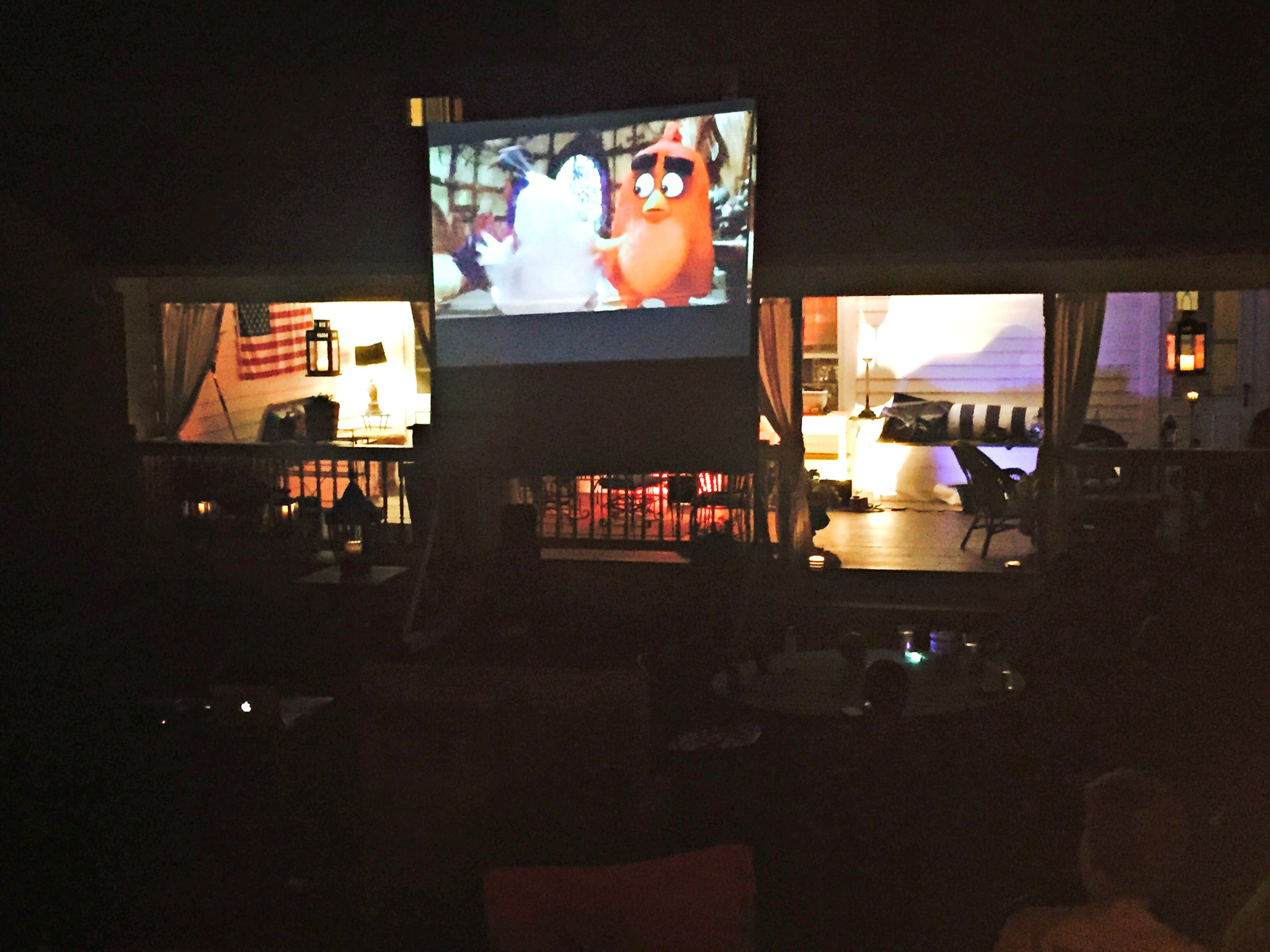 Turning Your Backyard Into A Movie Theatre