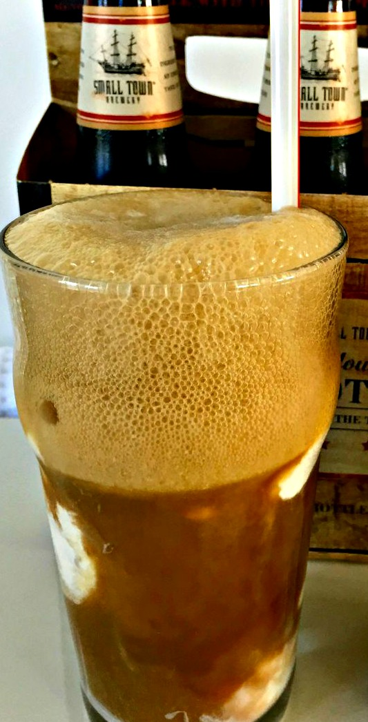 A Grown Up Root Beer Float