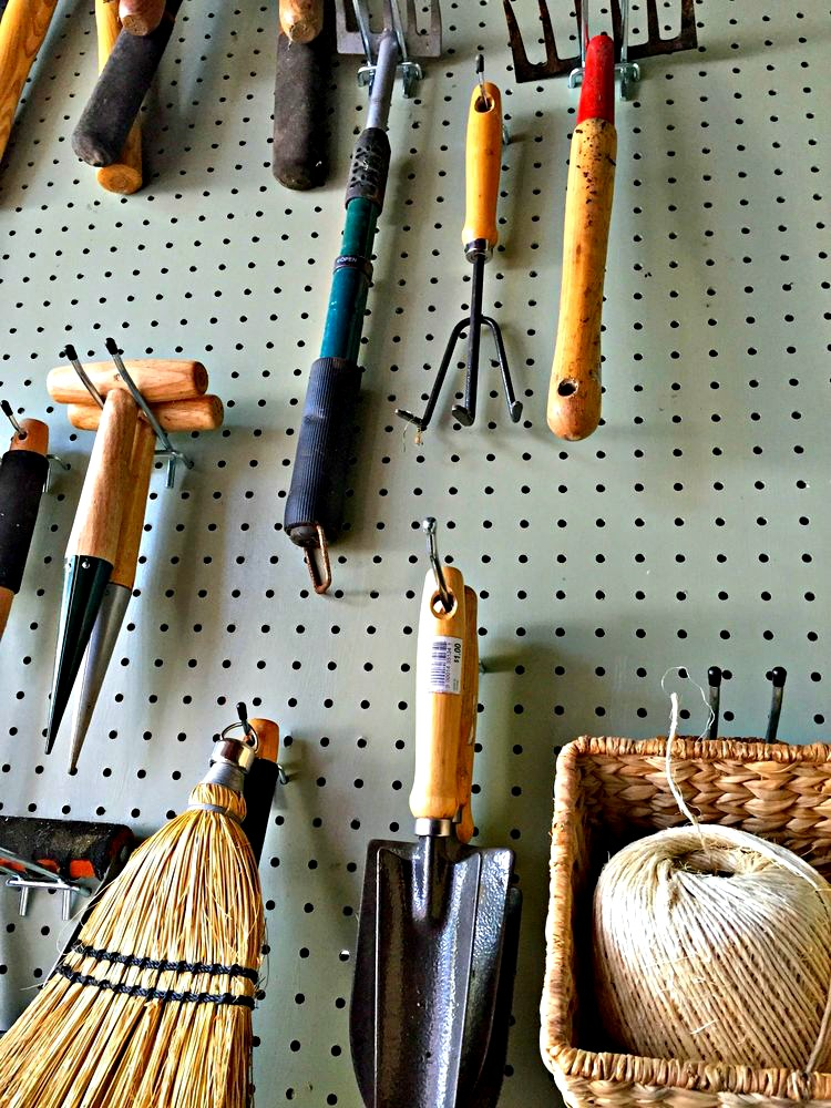An Easy DIY Solution To Stay Organized Using Pegboard