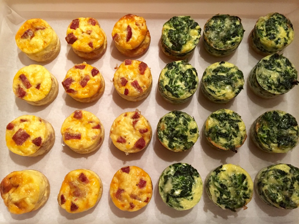 Quiche Poppers
