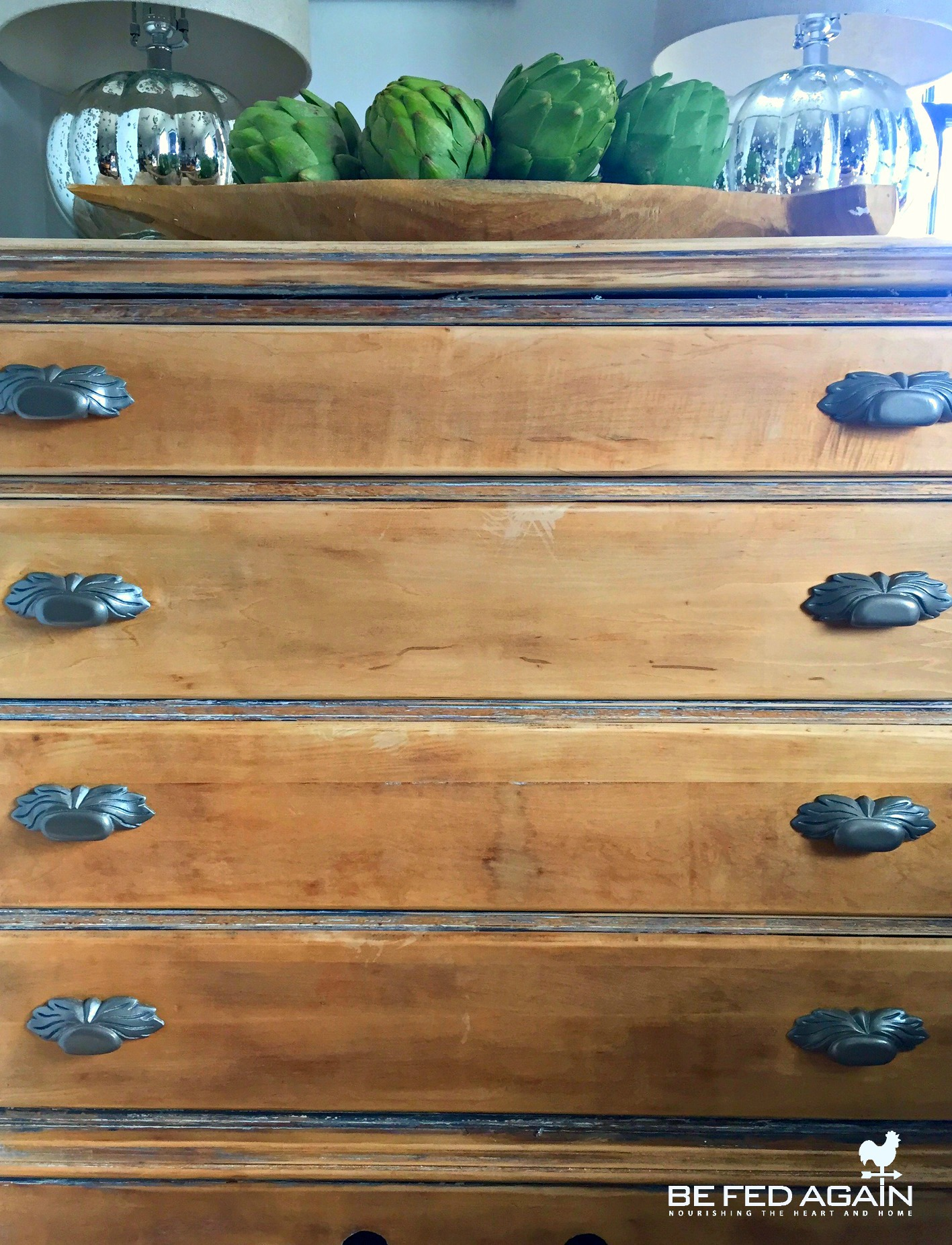 Wagner Heat Gun Brings New Life To East Lake Dresser + A Promotion!!