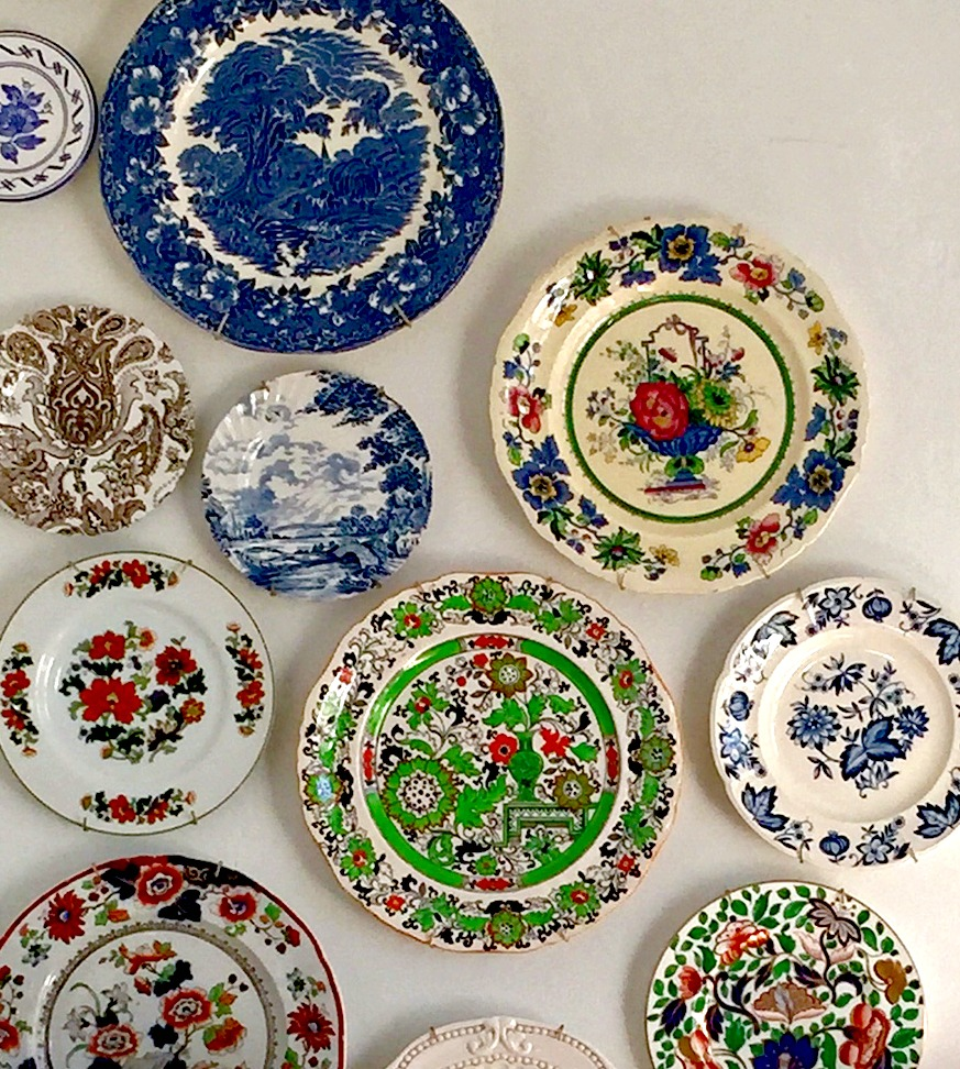 Old Plates Become New Art