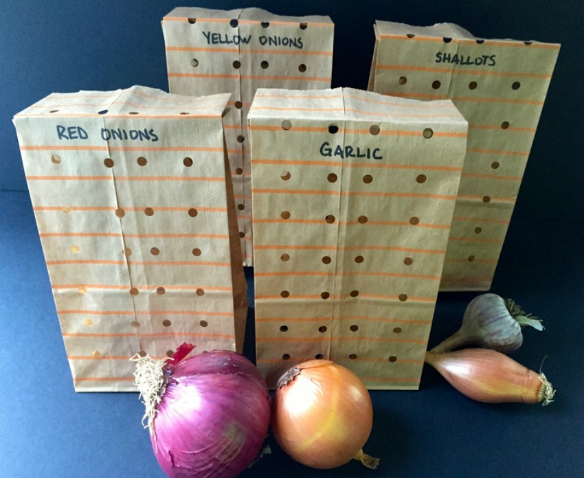 The Best Way To Store Onions & Garlic – Quick Tip Friday