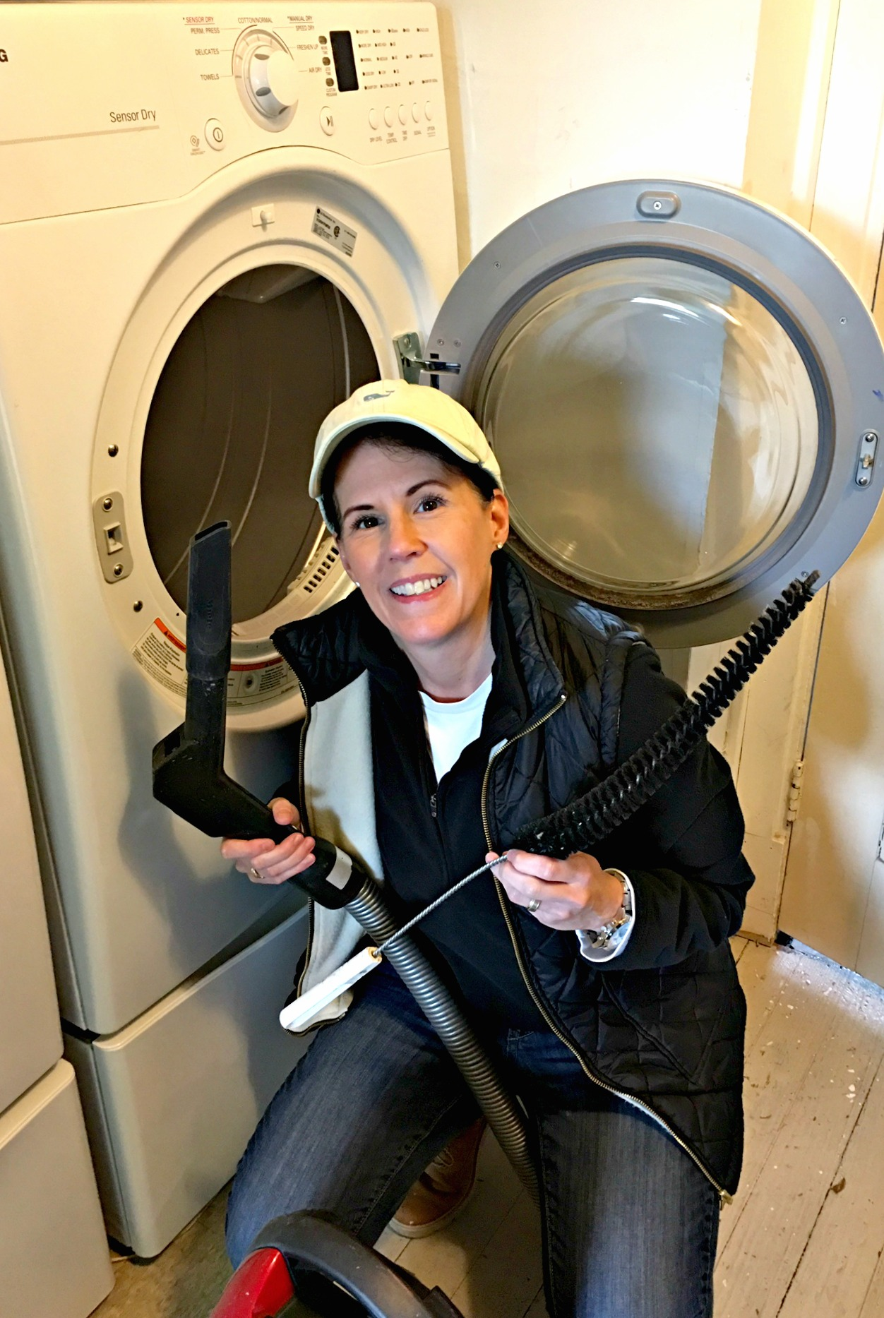 Have You Vacuumed Your Dryer Lately?