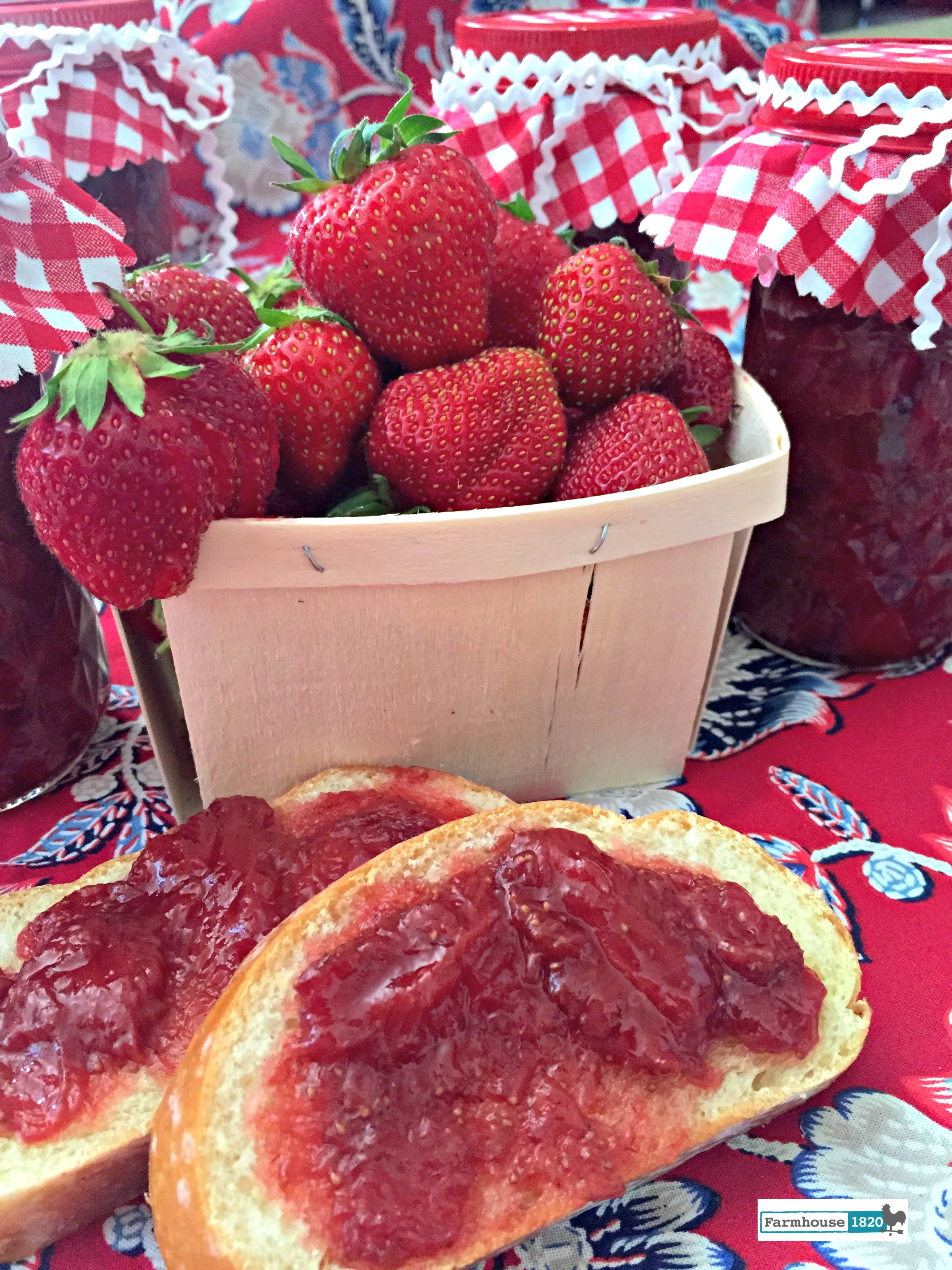 Strawberry Preserves - Farmhouse 1820