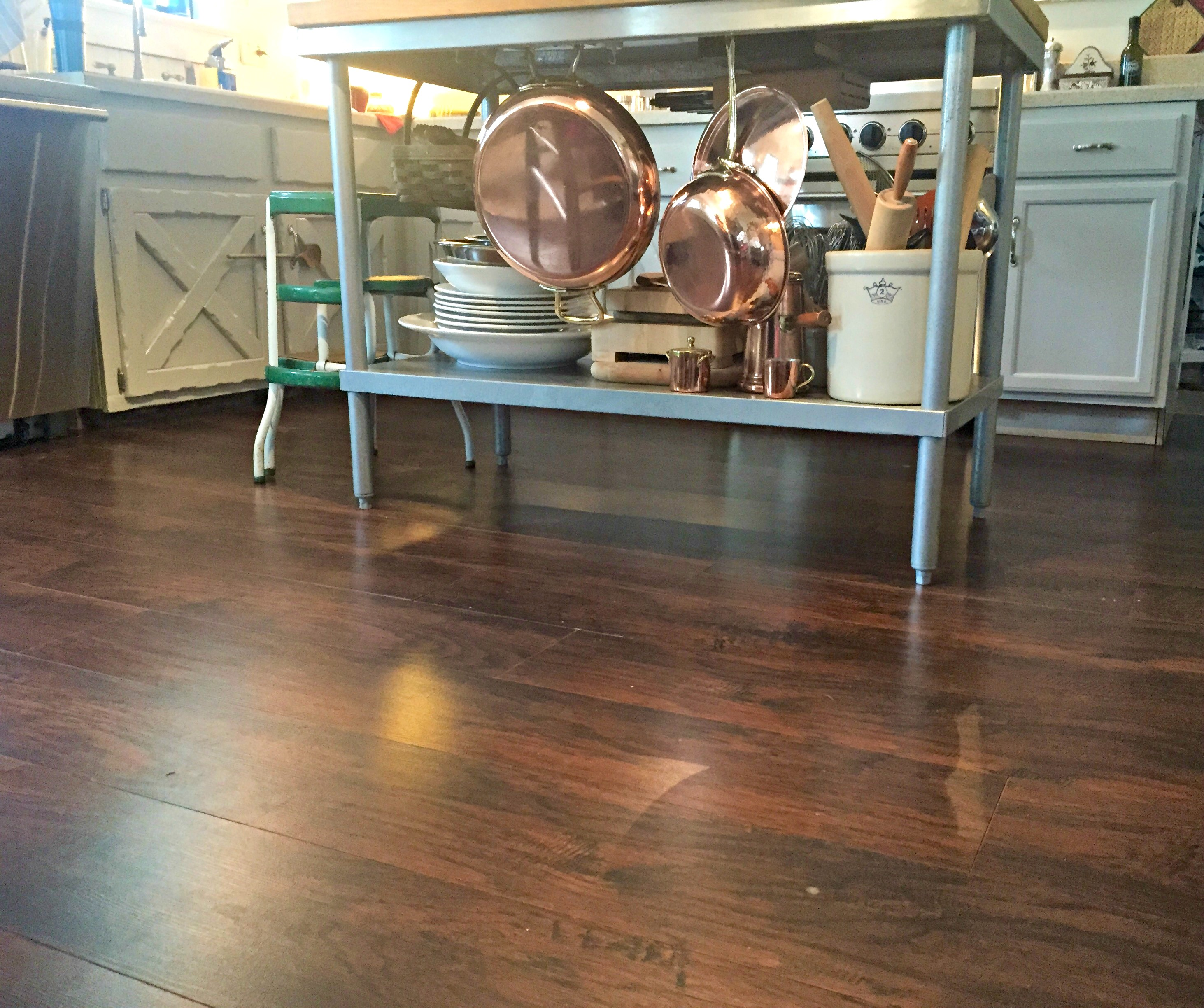 A New Kitchen Floor For Less Than $150