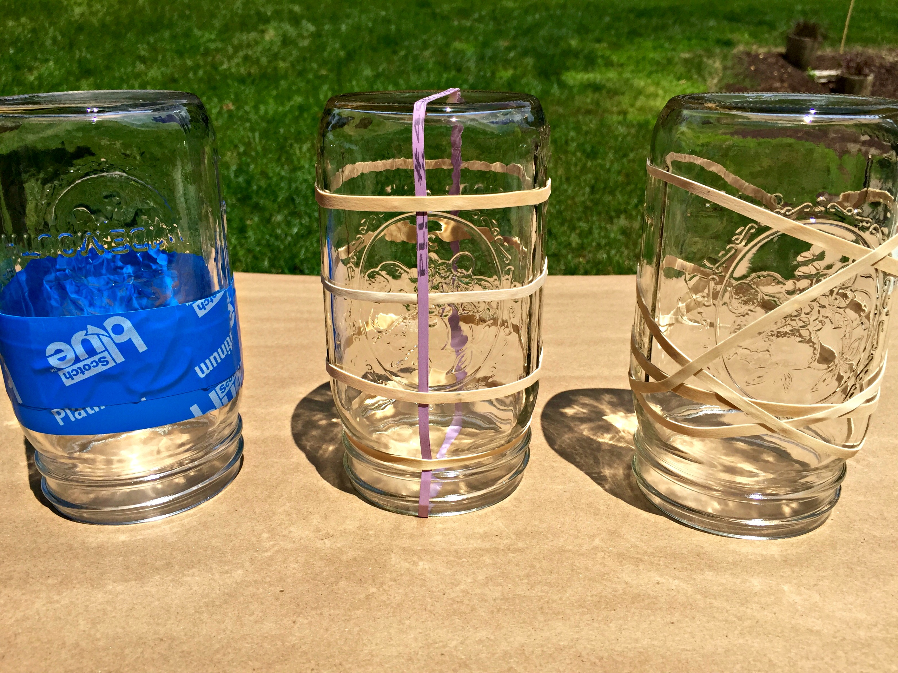 mason jar lantern pattern design