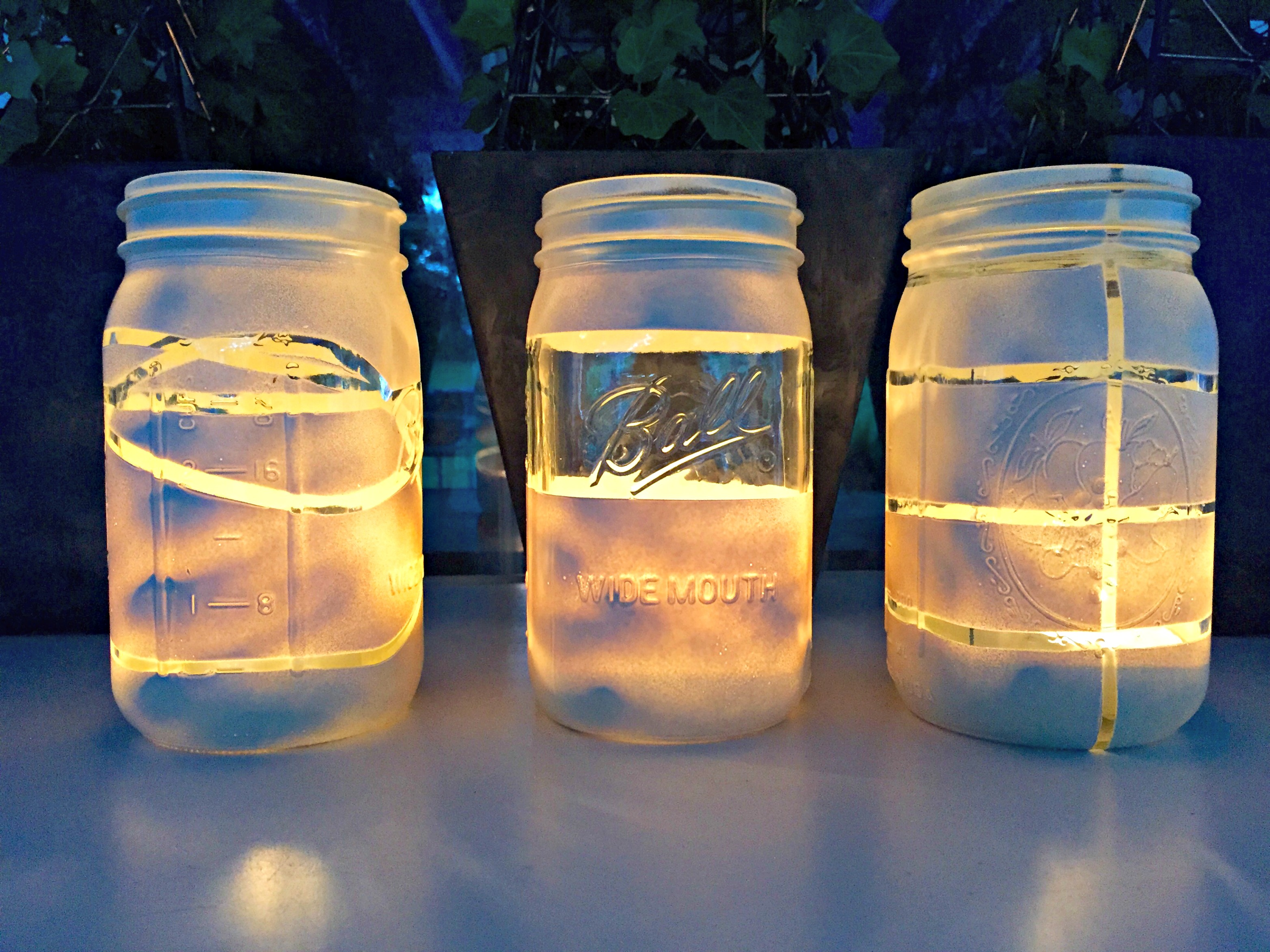 Diy Mason Jar Lanterns Farmhouse 1820