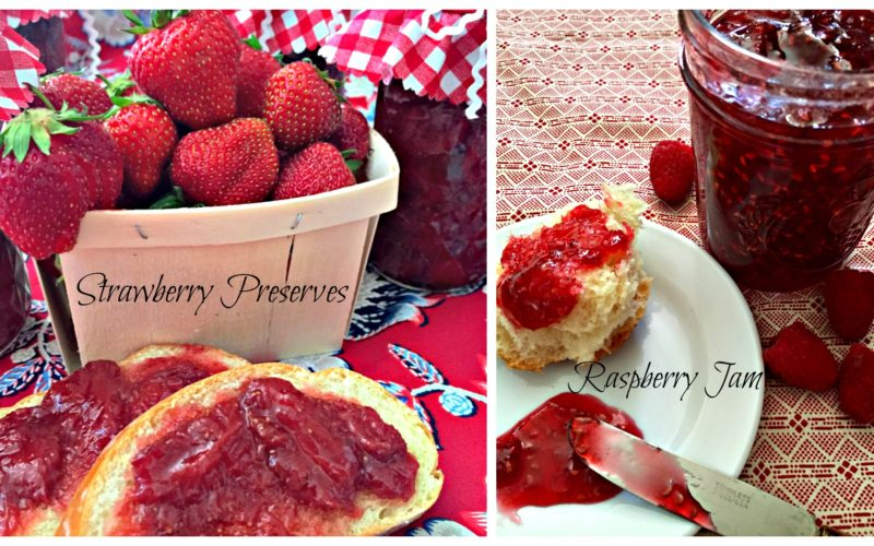 Following A Legacy With Strawberry Preserves & Raspberry Jam