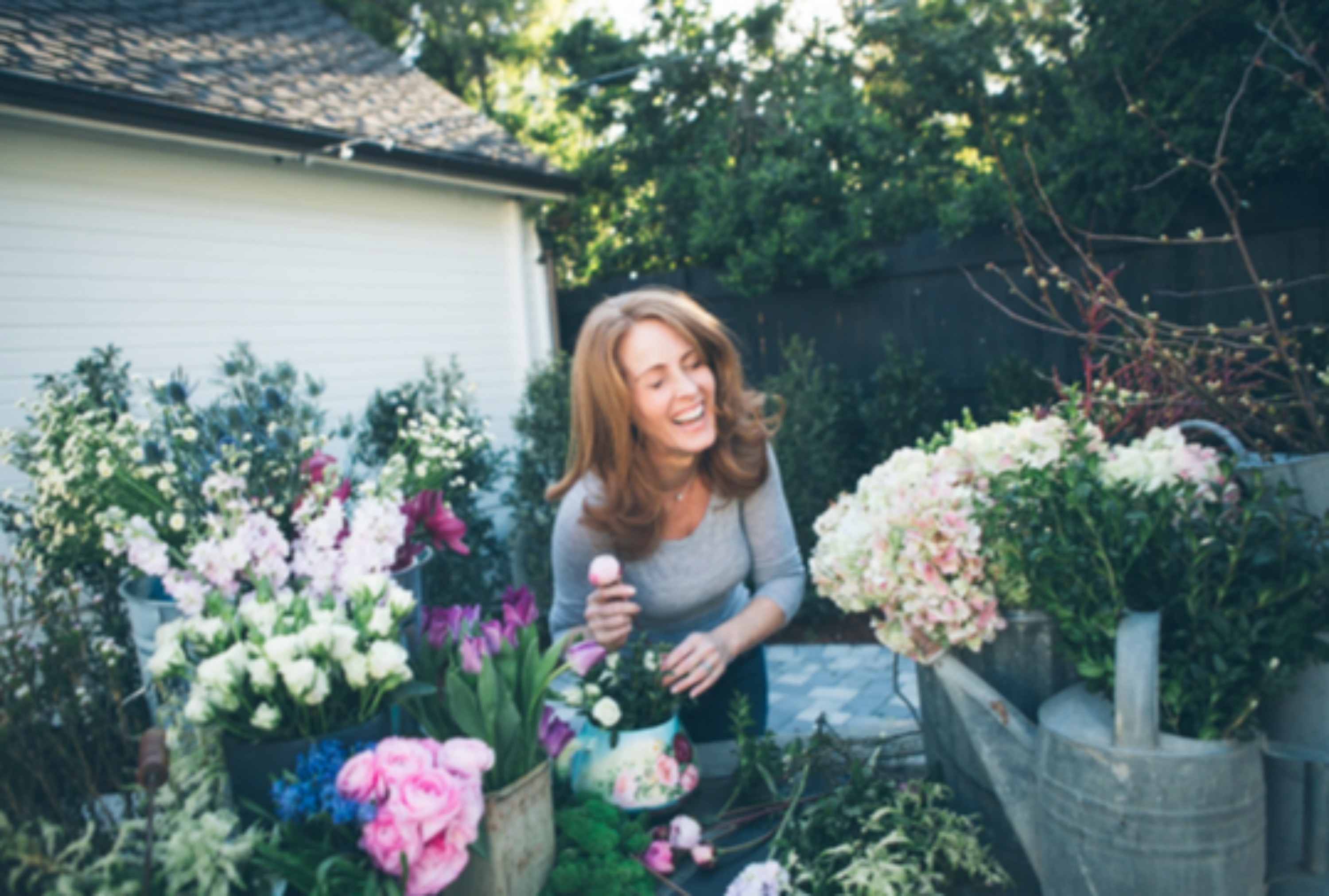 My Soulful Home - A Year In Flowers - Kelly Wilkness