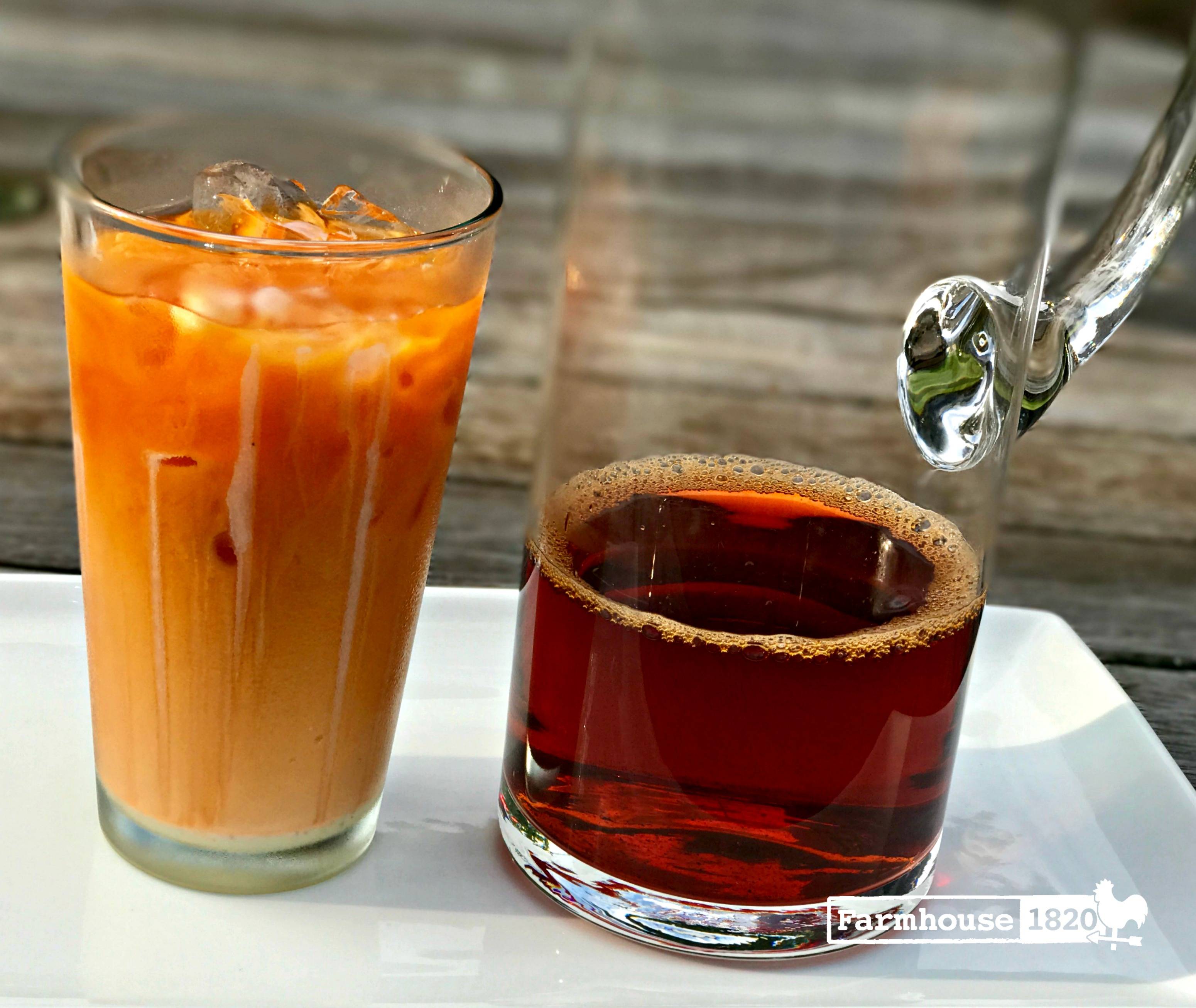 Thai Sweet Tea - very refreshing