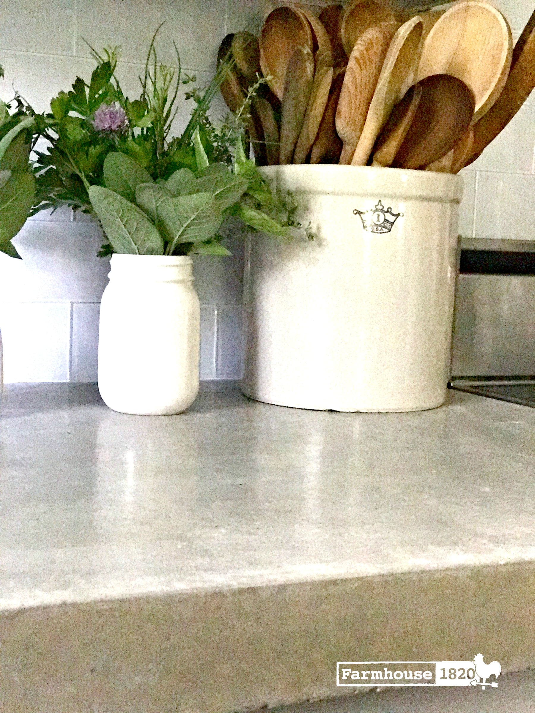 concrete countertops - the finished edge