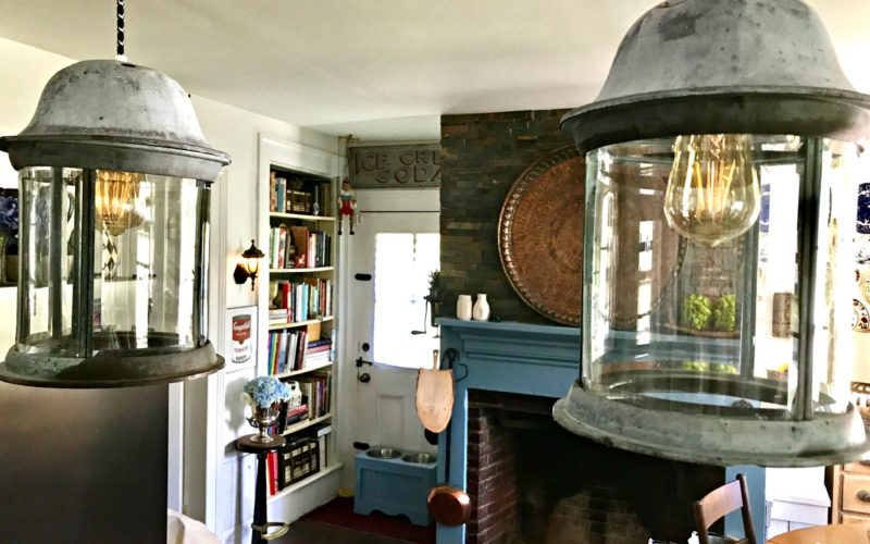 Mixing Old With New In Light Fixtures