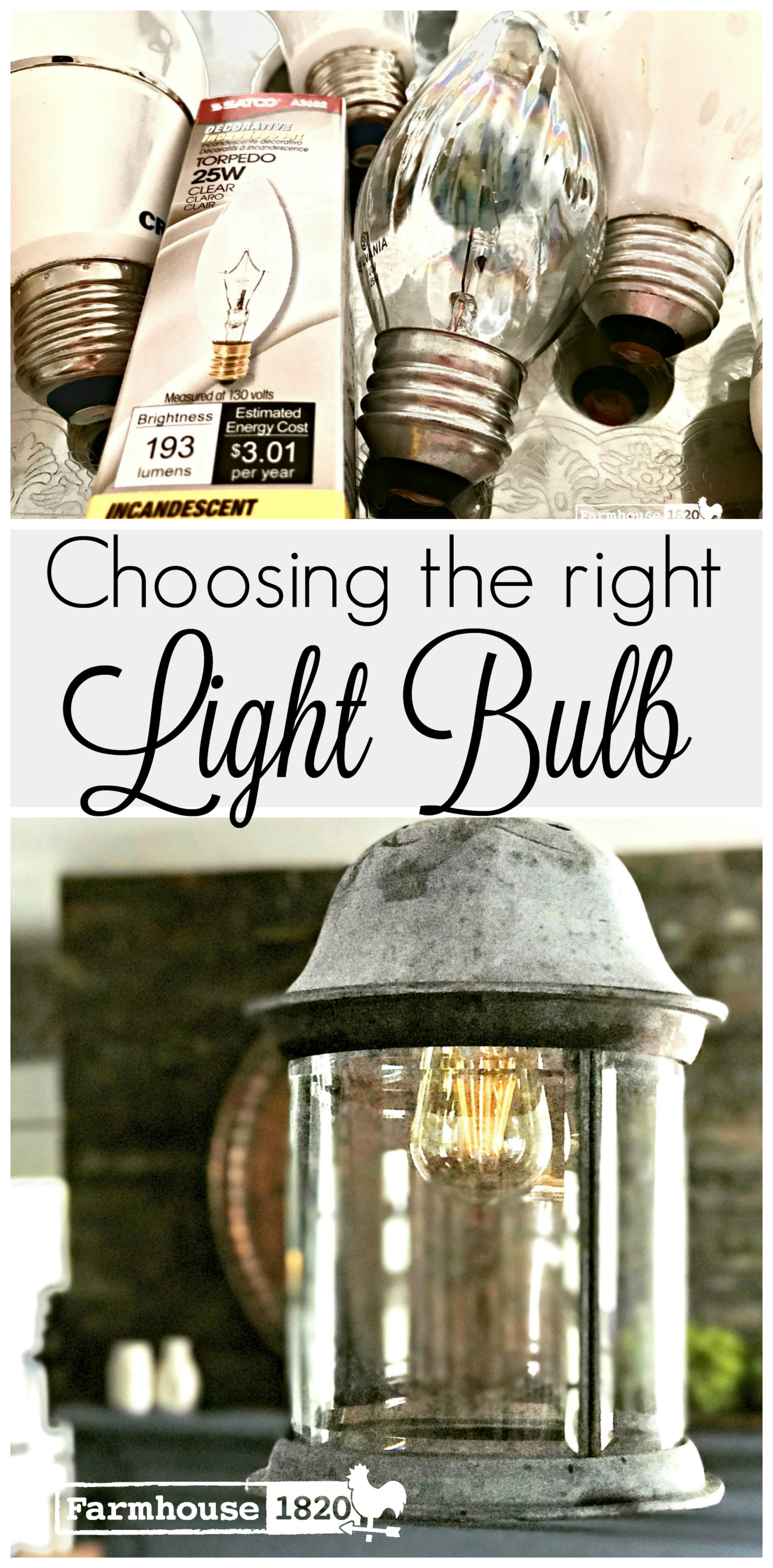 What does lumens mean choosing the right light bulb farmhouse 1820 when i got to the store to buy said bulbs i found myself just standing there utterly confused there before me were dozens and dozens of choices biocorpaavc
