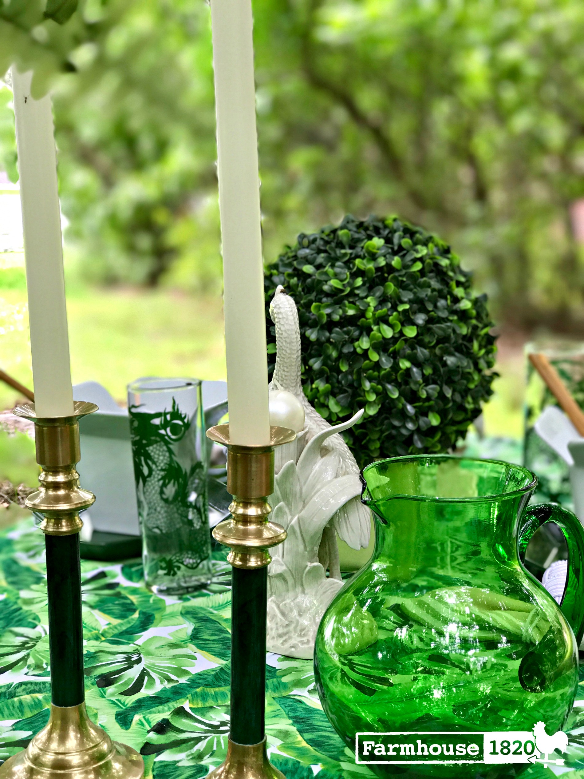 outdoor tablesetting - creating the perfect ambiance