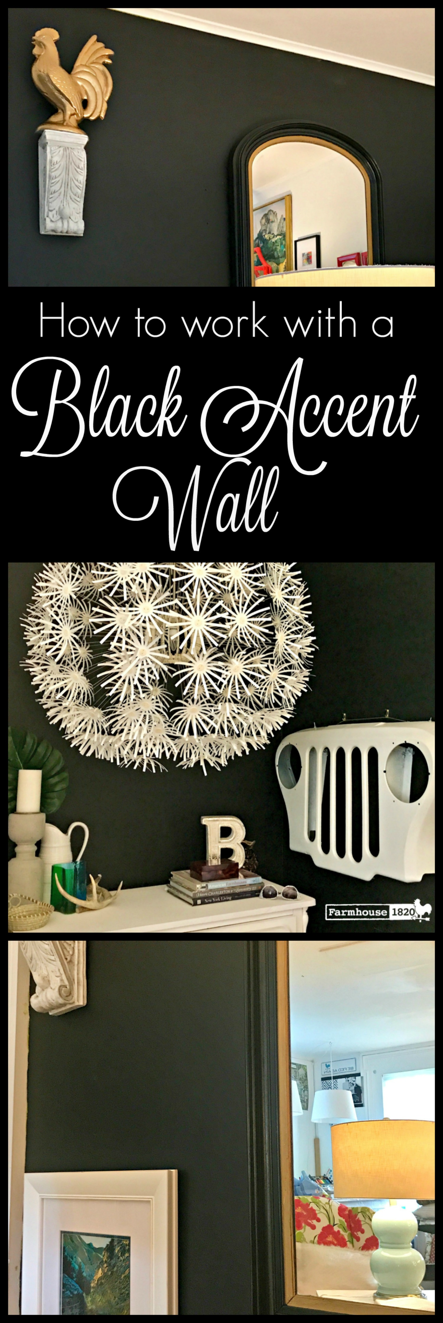 Accent wall - collage