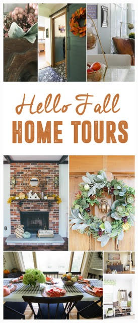 fall home tour - graphic