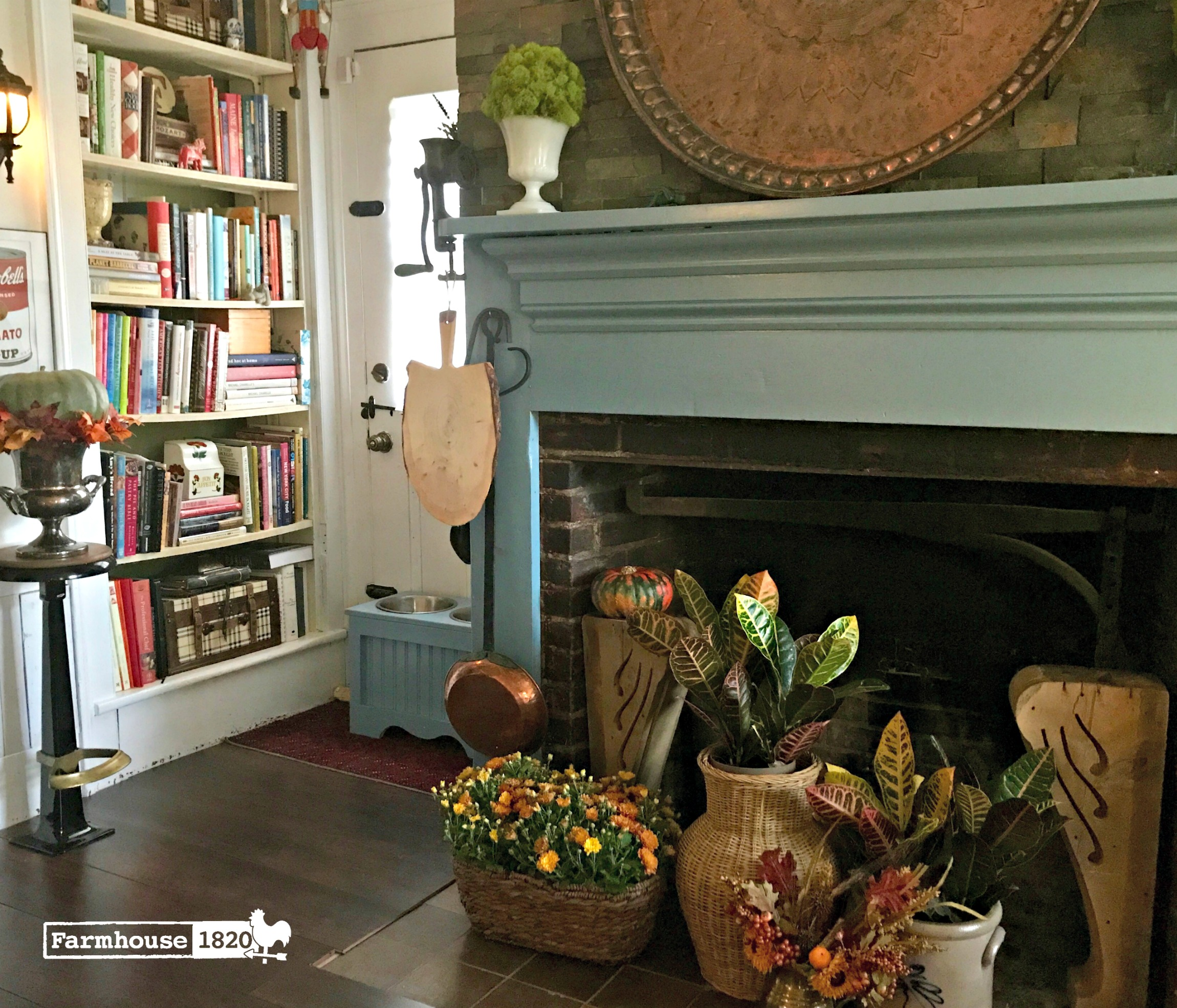 fall home tour - the kitchen