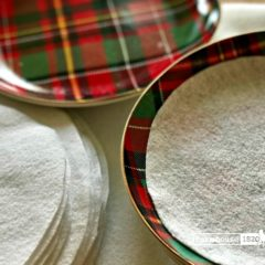 Protecting Your Holiday Tableware