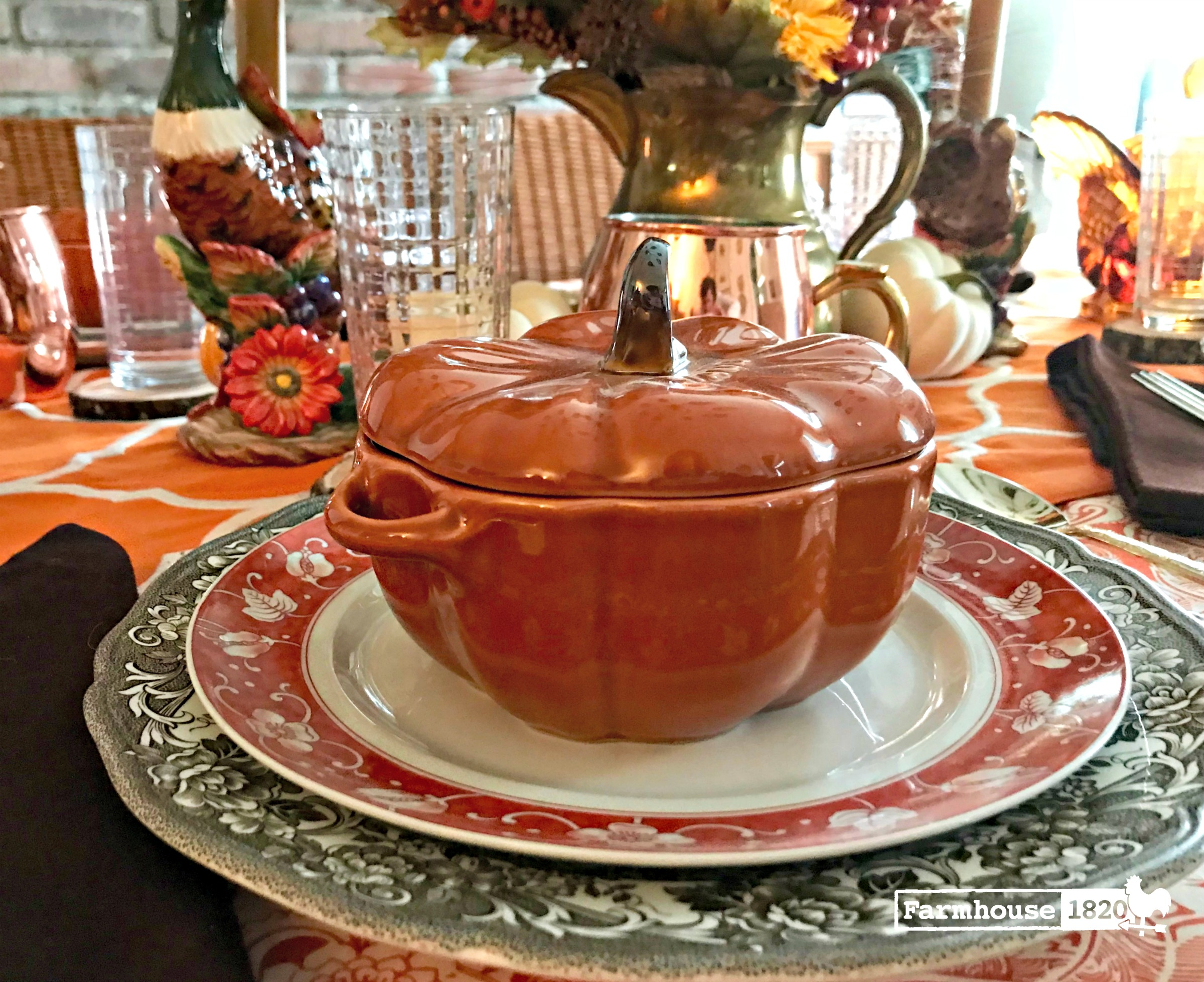5 Thanksgiving Tablescapes