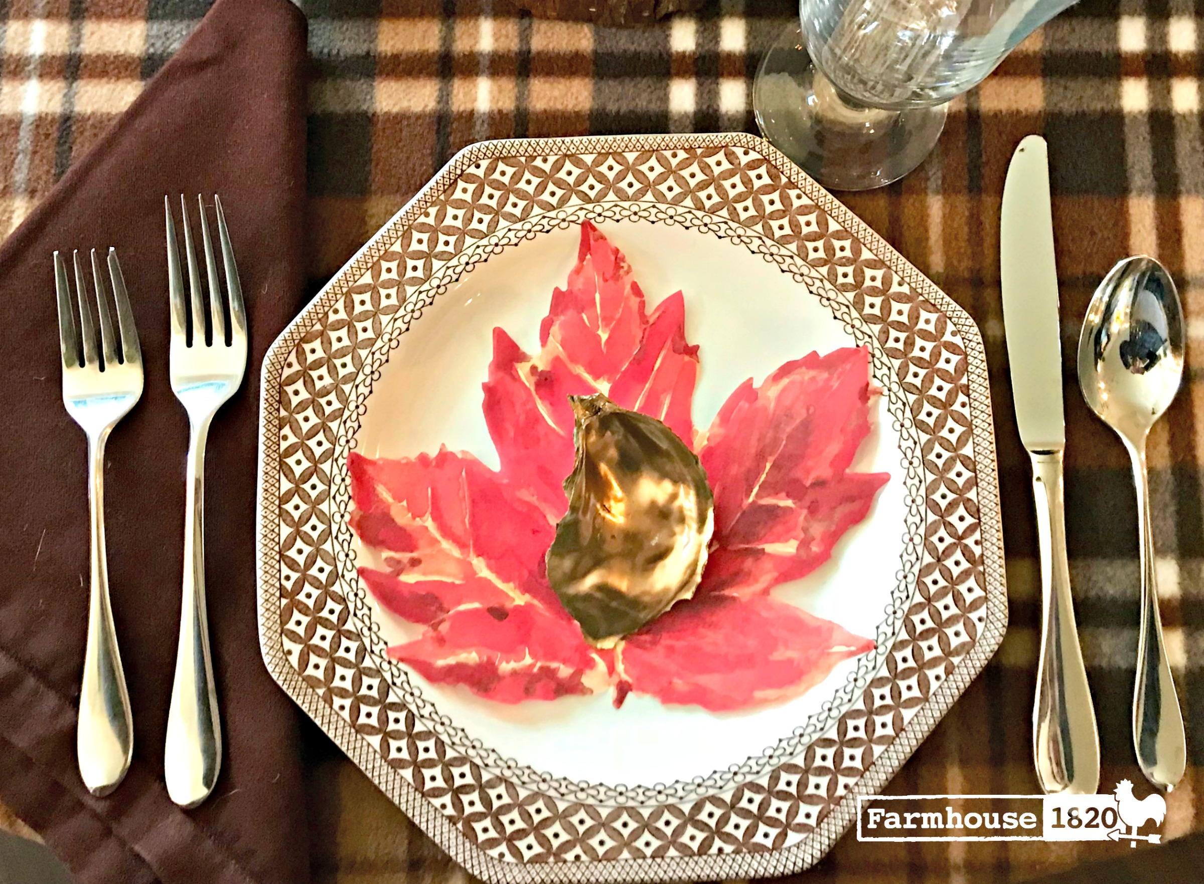 Thanksgiving tablesetting - shopping the house for the perfect table decor