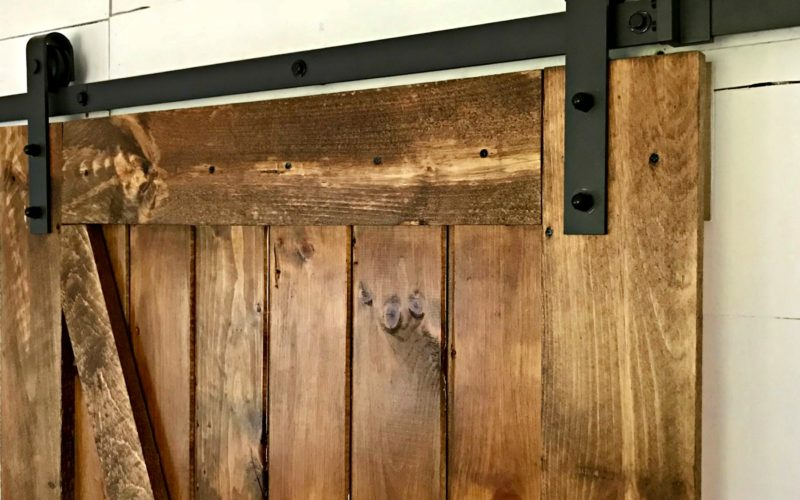 A DIY Barn Door That's Easier Than You Think