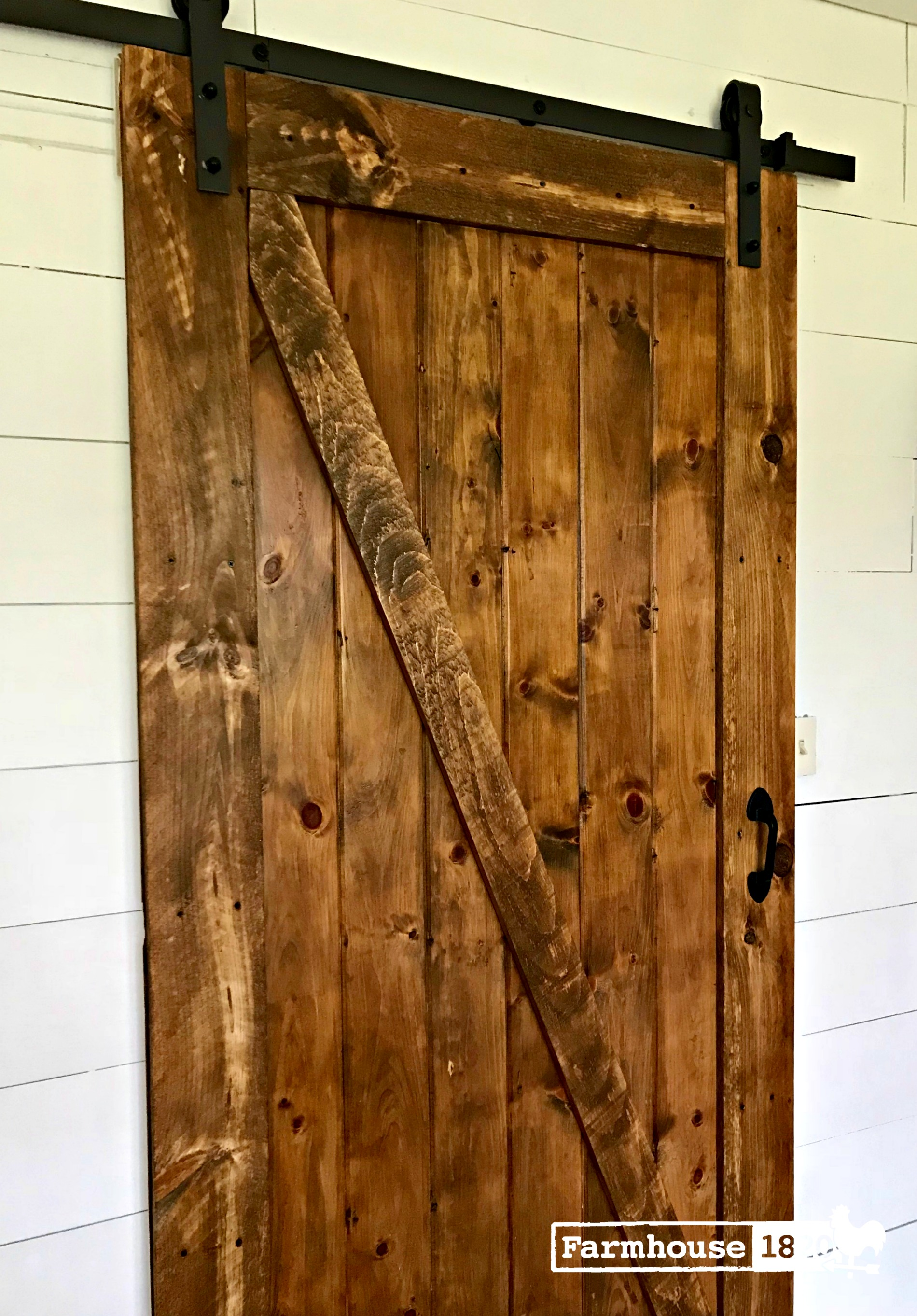 barn door - how to build a barn door on a budget