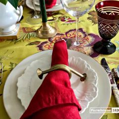 Christmas Tablesetting Inspirations