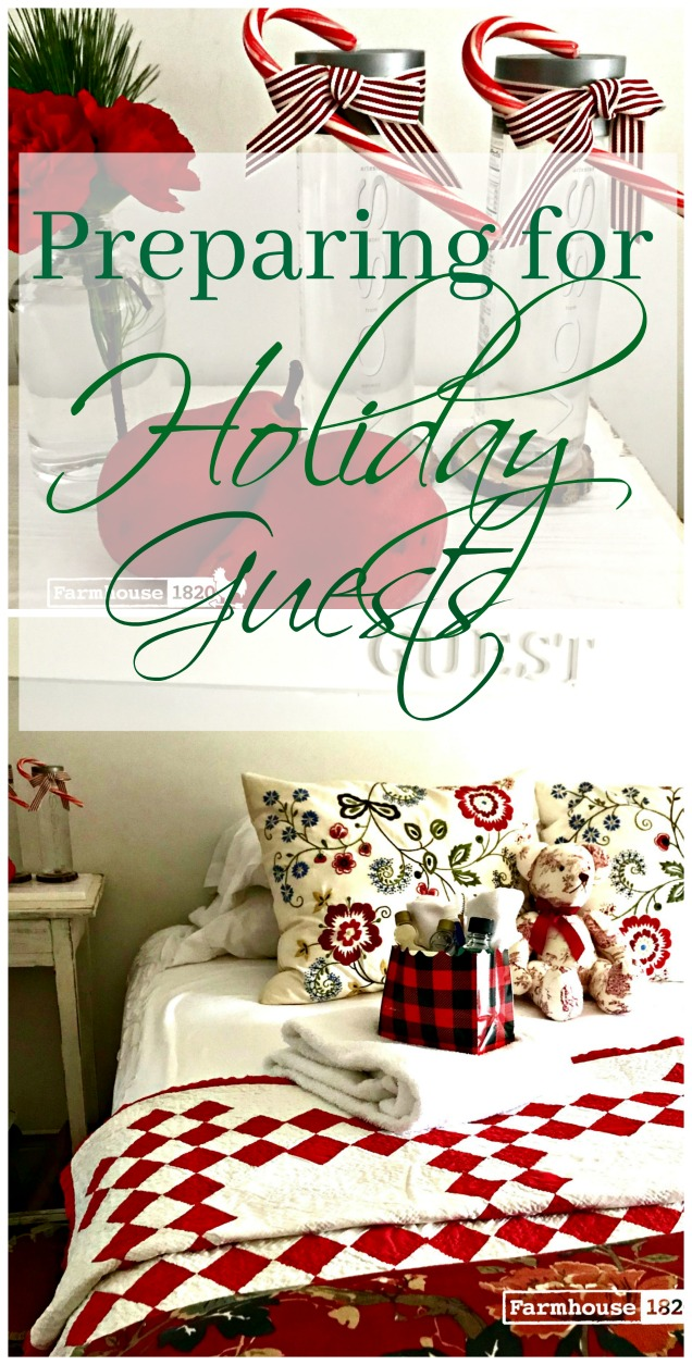 Holiday Guests - pinterest image