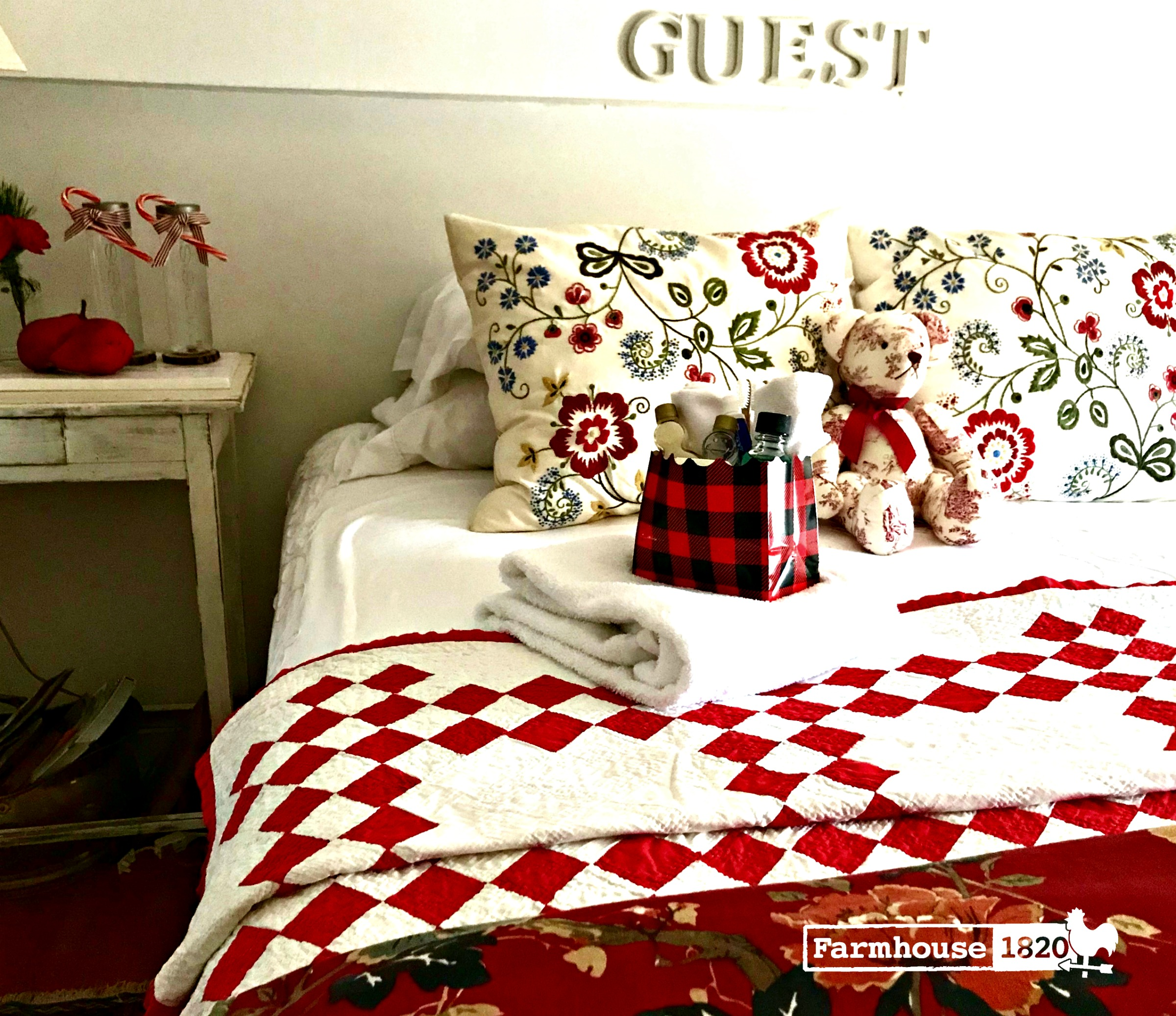 Holiday Guests - prepping your guest bedroom for guests
