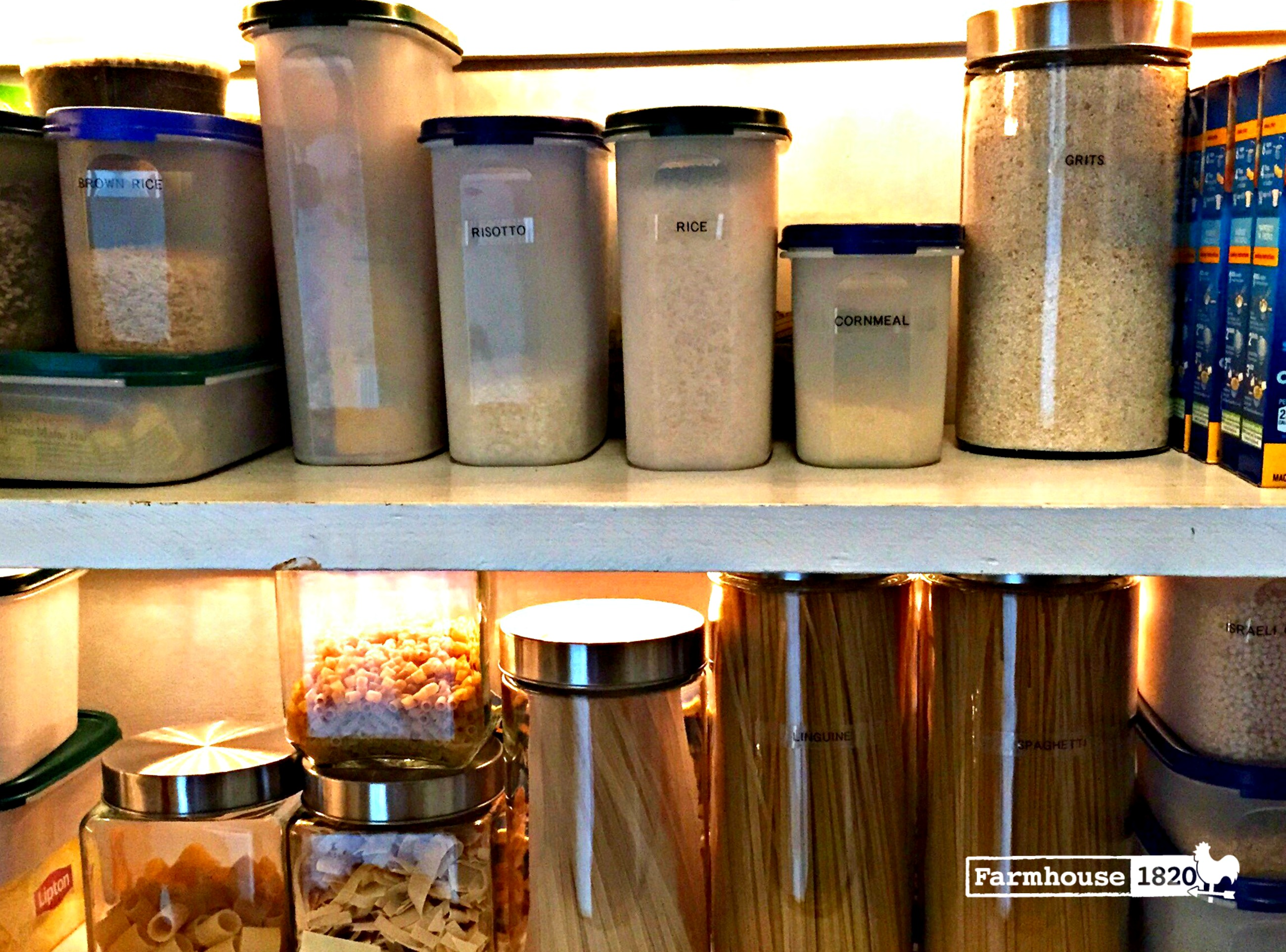 pantry organization - keeping fresh with containers2