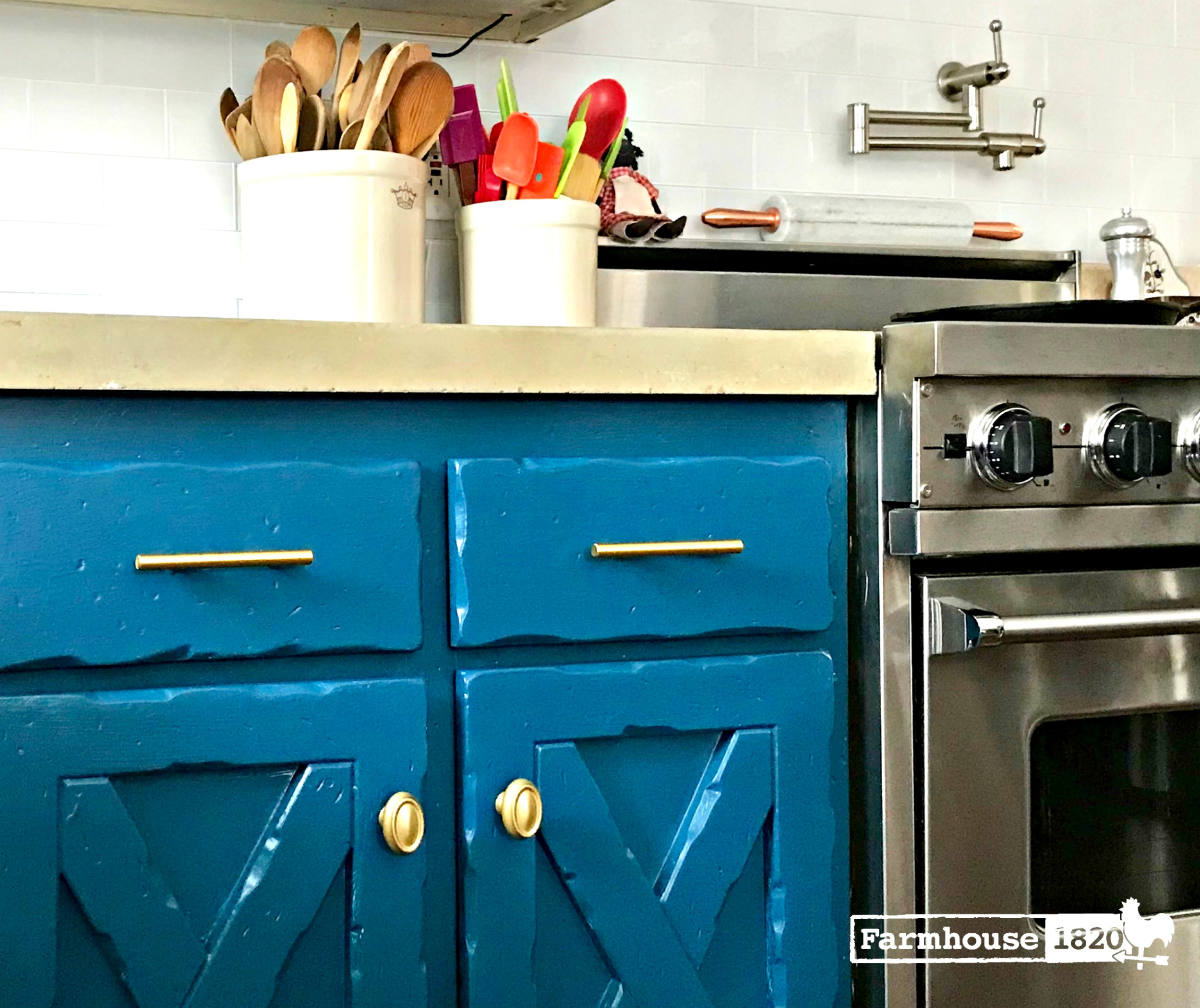 Kitchen cabinets - a new face