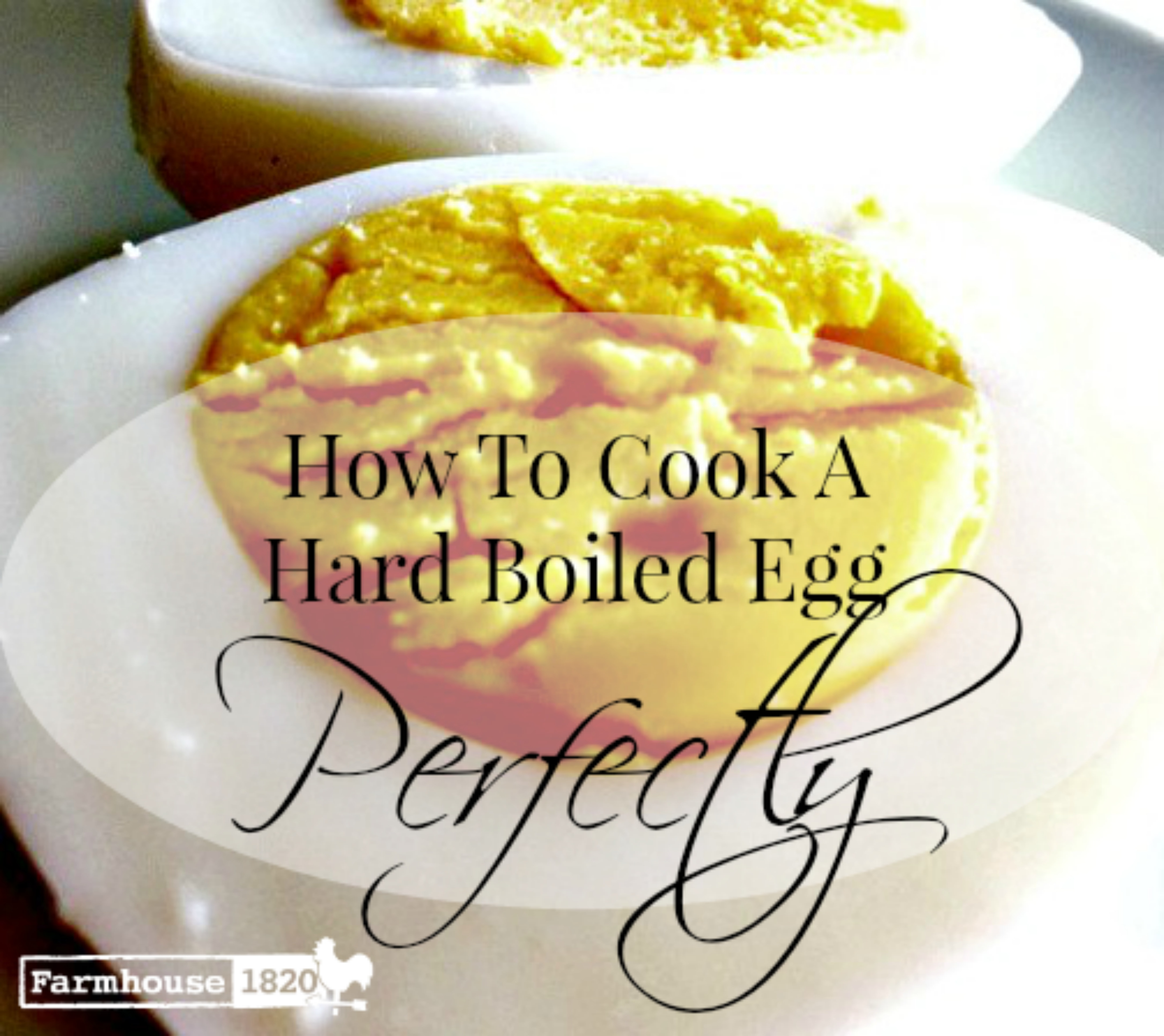 Hard Boiled Egg - Perfectly cooking a hard boiled egg