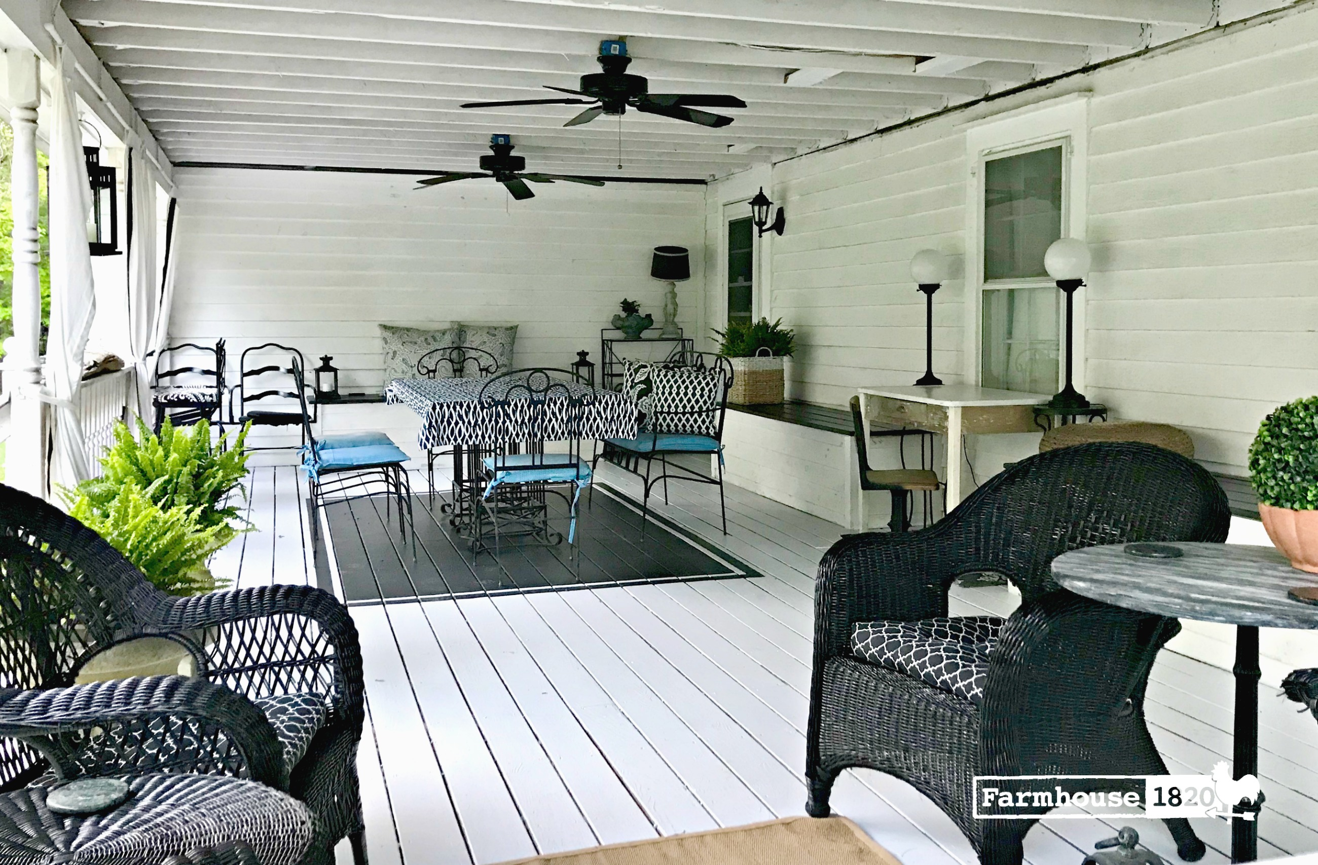 back porch 2018 - time to porch