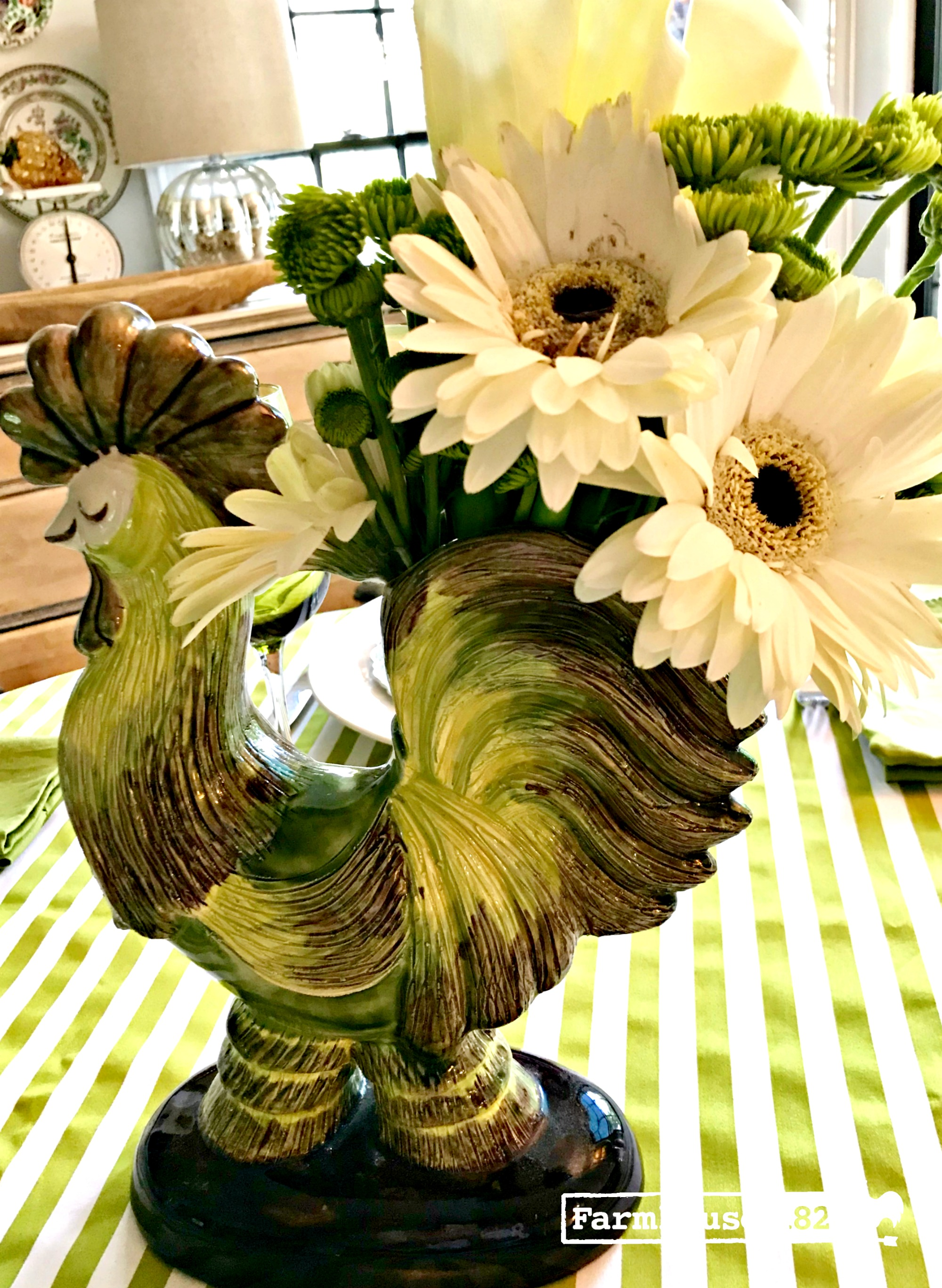 CLFair finds 2018 - a gorgeous rooster vase