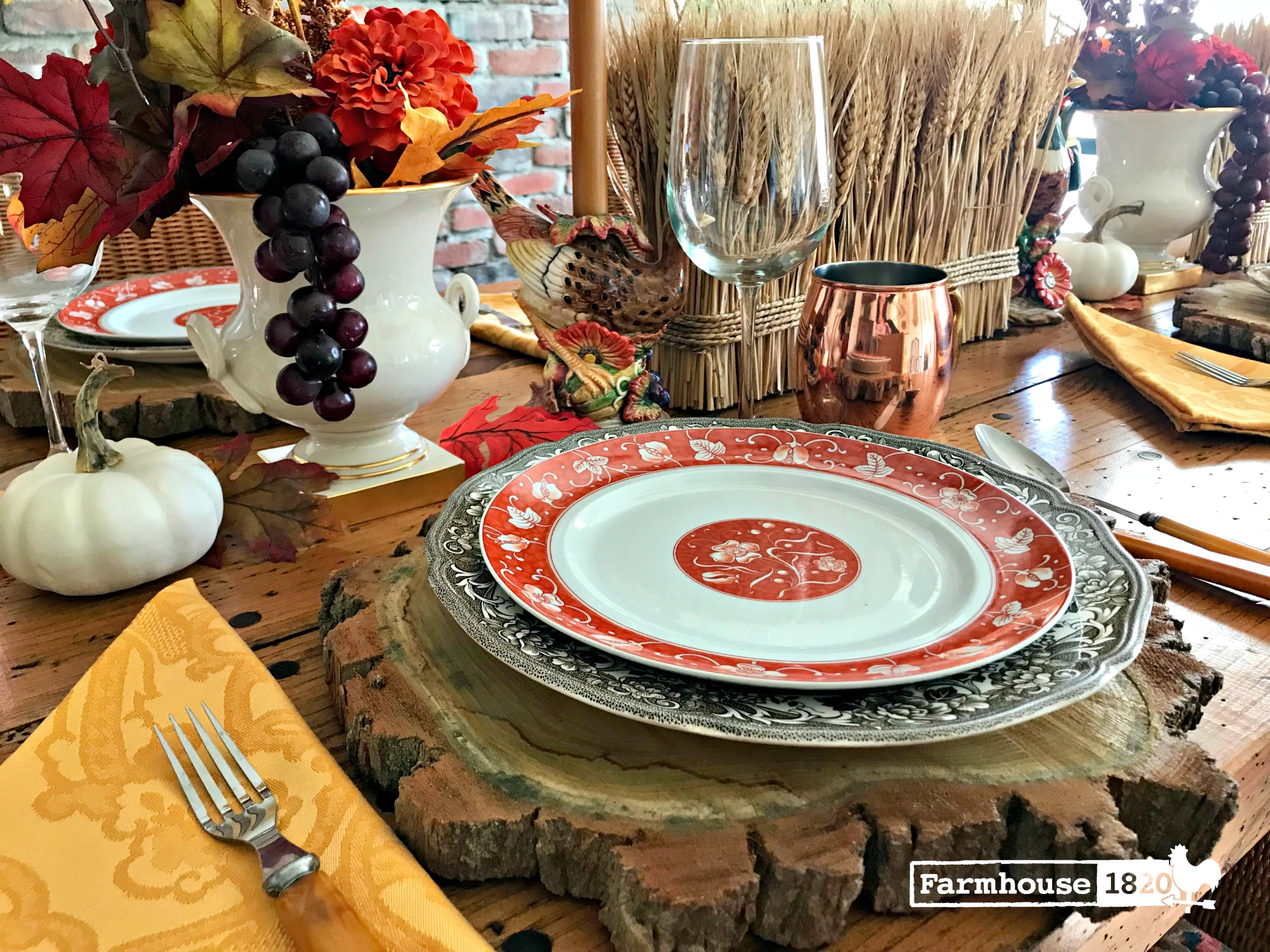 Thanksgiving Tablesetting Inspiration