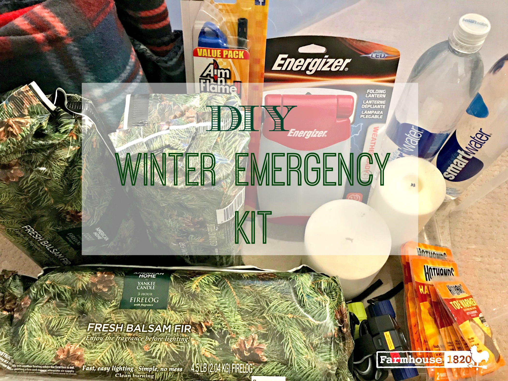 Winter - DIY winter emergency kit feature
