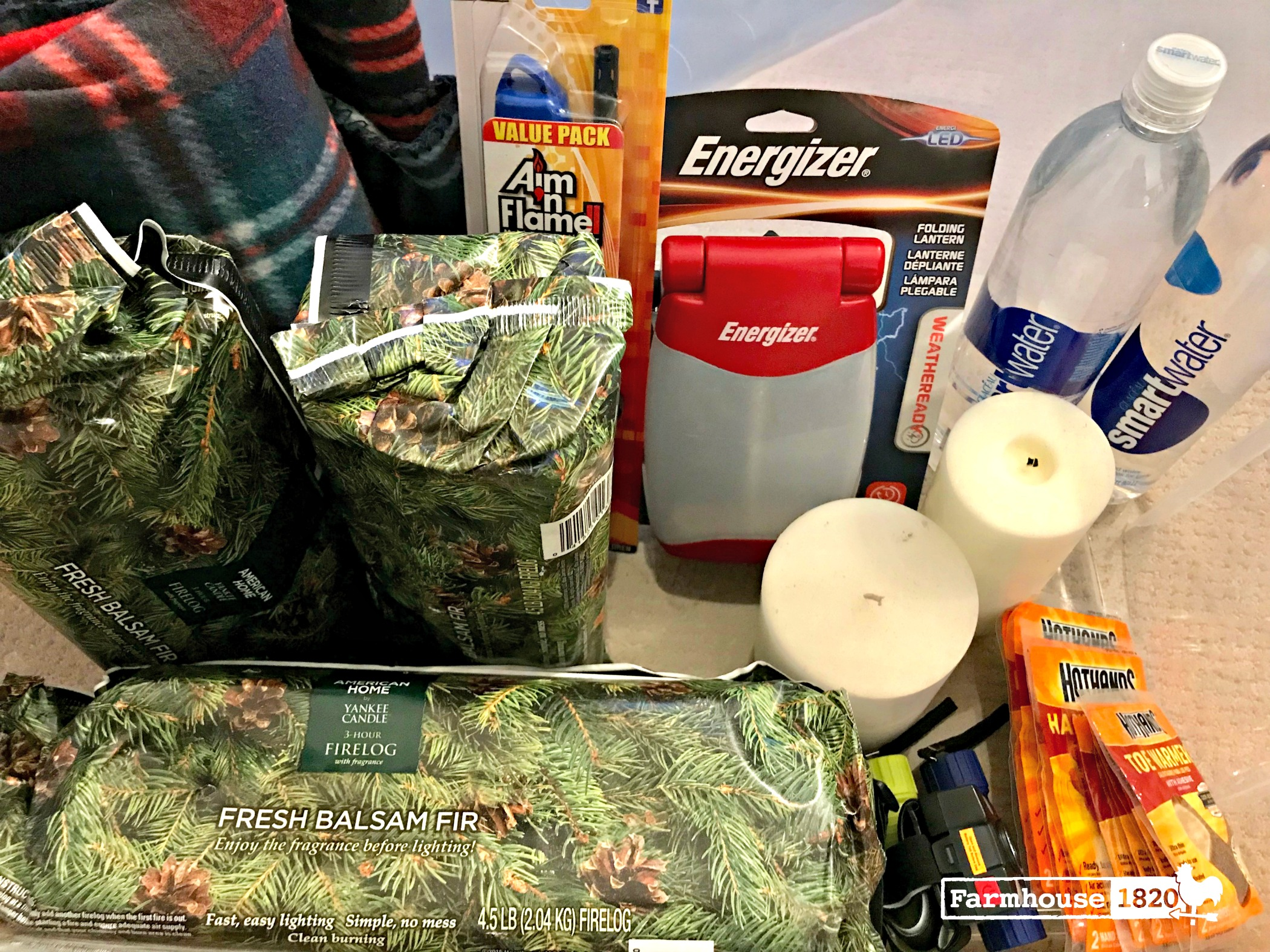Winter - DIY winter emergency kit