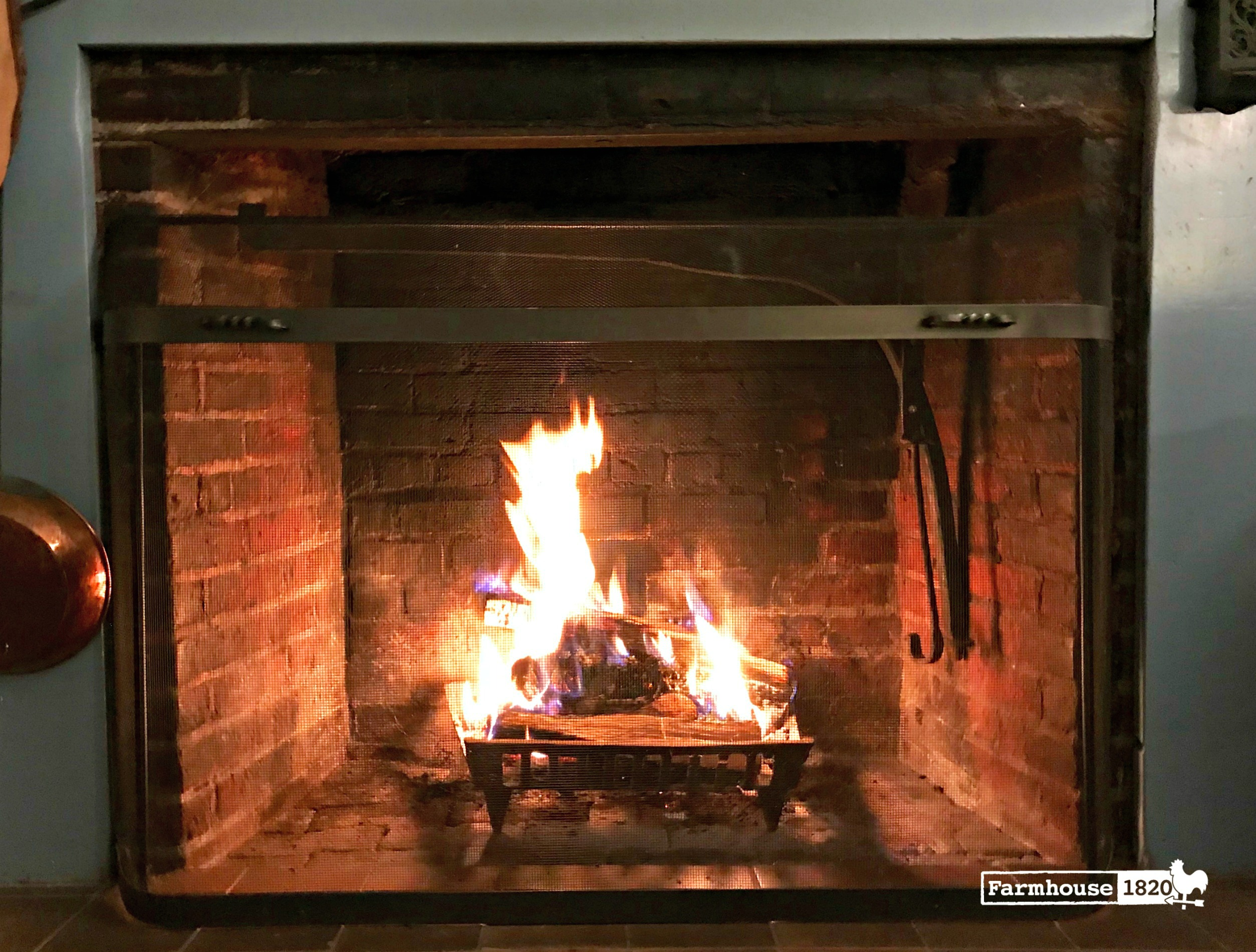 fireplace - cozy and warm and safe with creosote