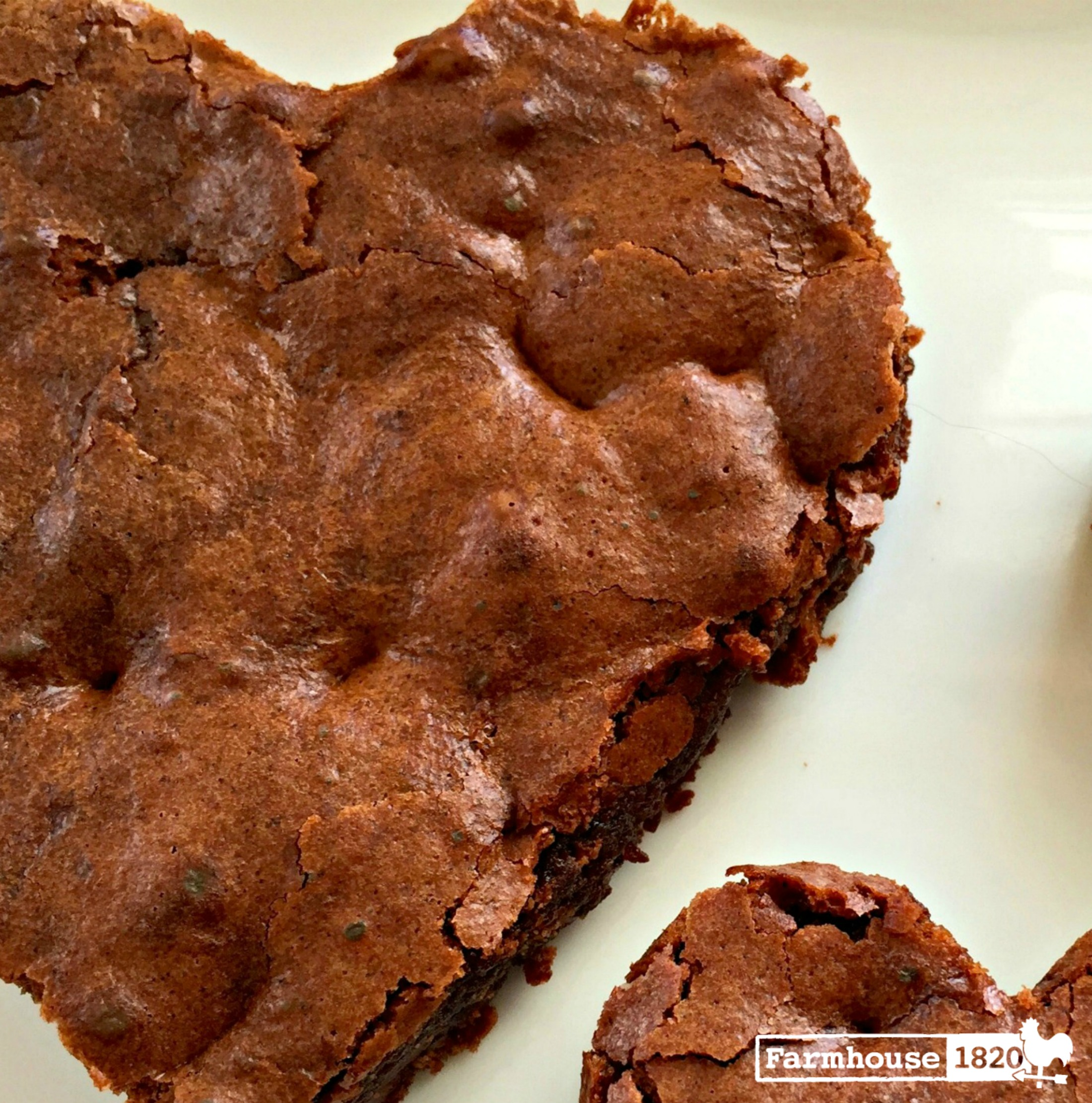 brownie - chocolate valentine's day goodie