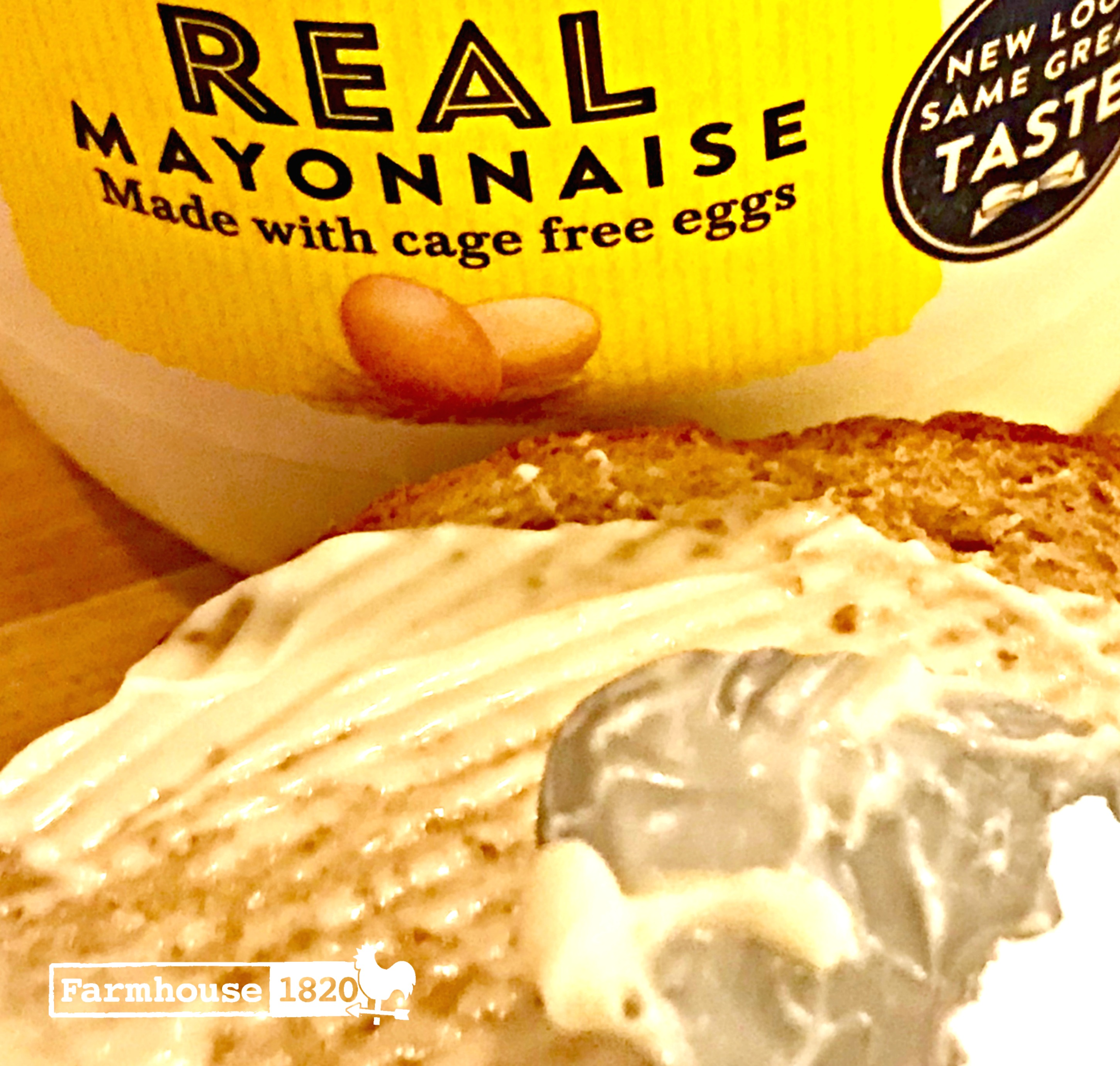 grilled cheese - mayo is the key ingredient