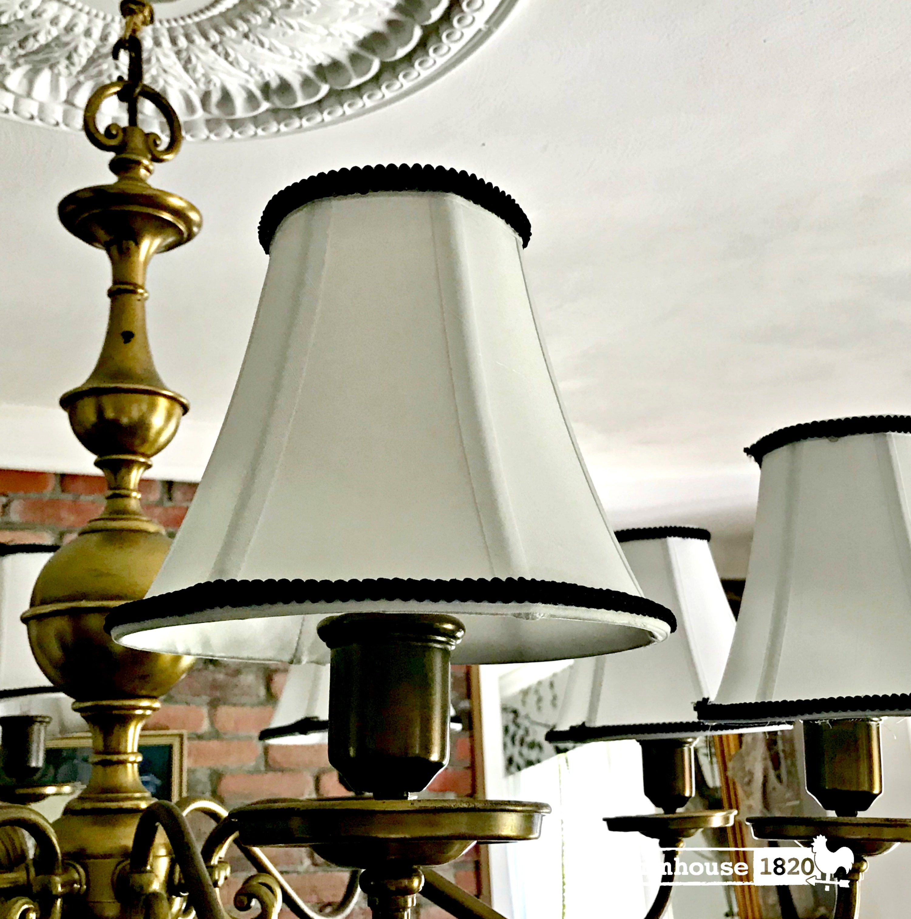 chandelier - turning budget lampshades into high end