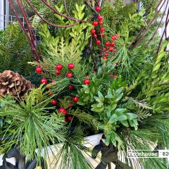 Quick And Easy Holiday Arrangements; A Festive How-To