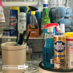 Clever and Easy Ideas To Organize Under The Kitchen Sink