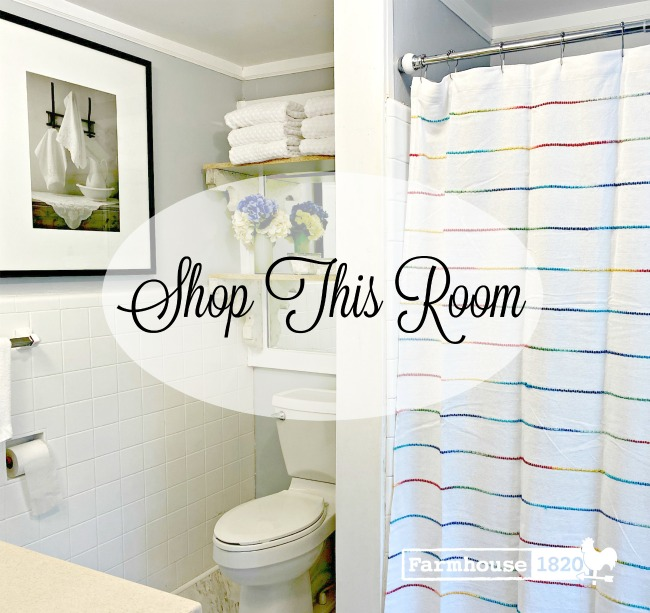 bathroom - shop this room